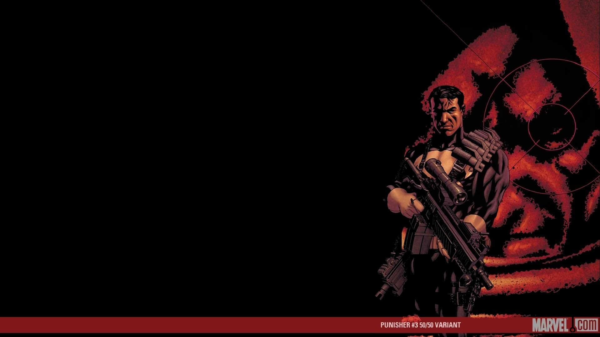 1920x1080 Comics - The Punisher Frank Castle Punisher Wallpaper