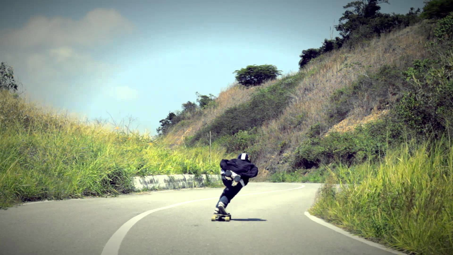 Longboarding wallpaper 1920x1080