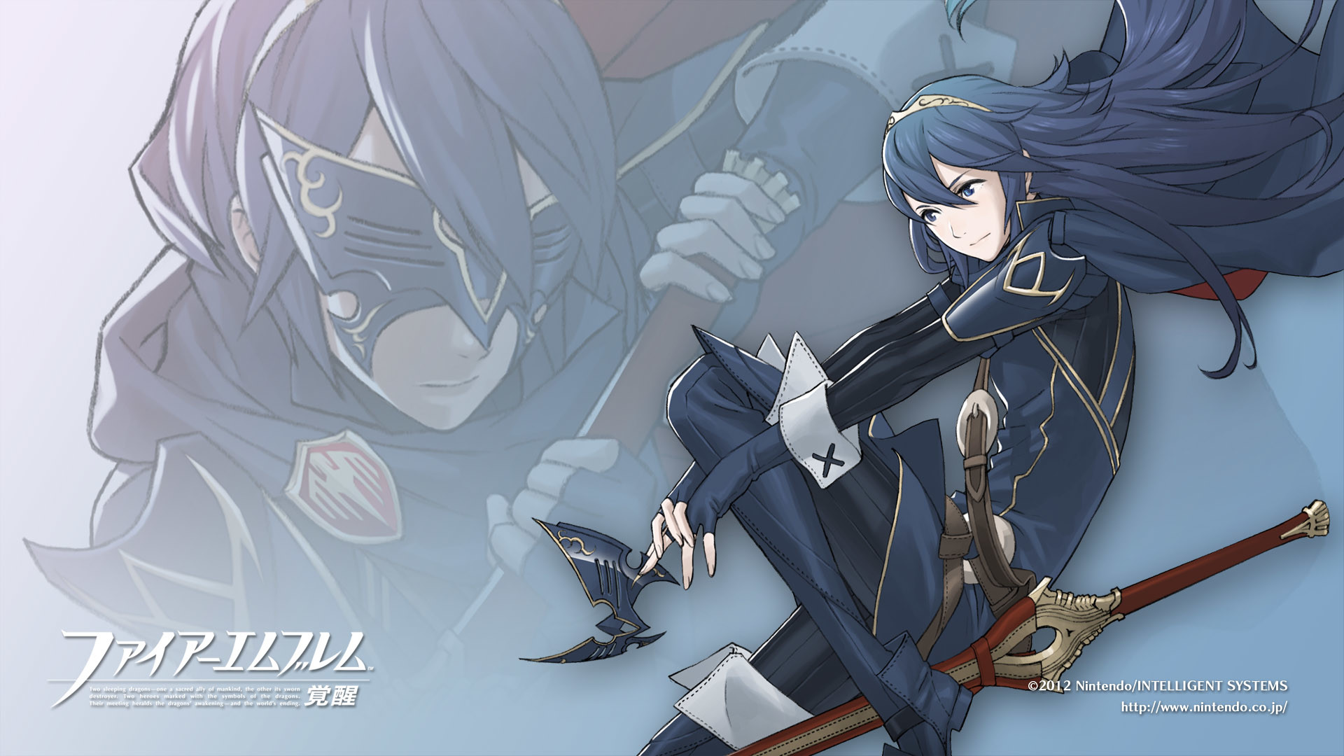 1920x1080 ... Lucina wallpaper for a long time after recruiting her in the game. It's  not very original, but it was nice and simple, and I like Lucina.