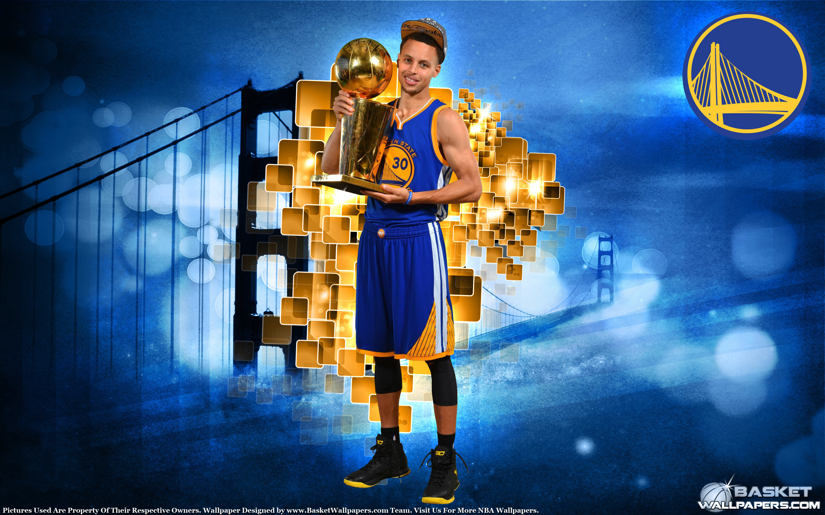 2880x1800  Stephen Curry 2015 NBA Champion  Wallpaper