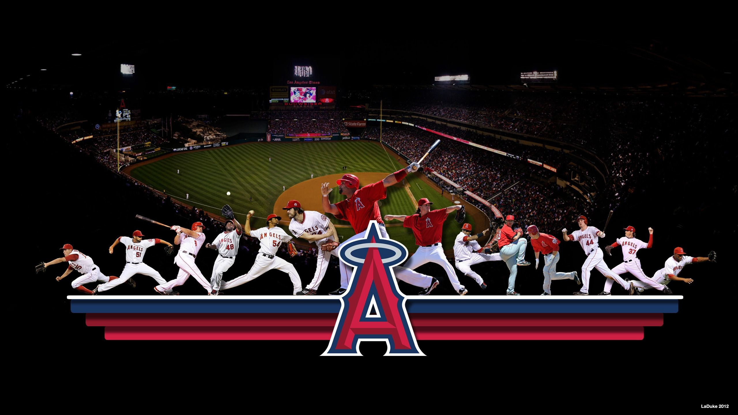 2560x1440 Angels Baseball Wallpapers - http://wallpaperzoo.com/angels-baseball-