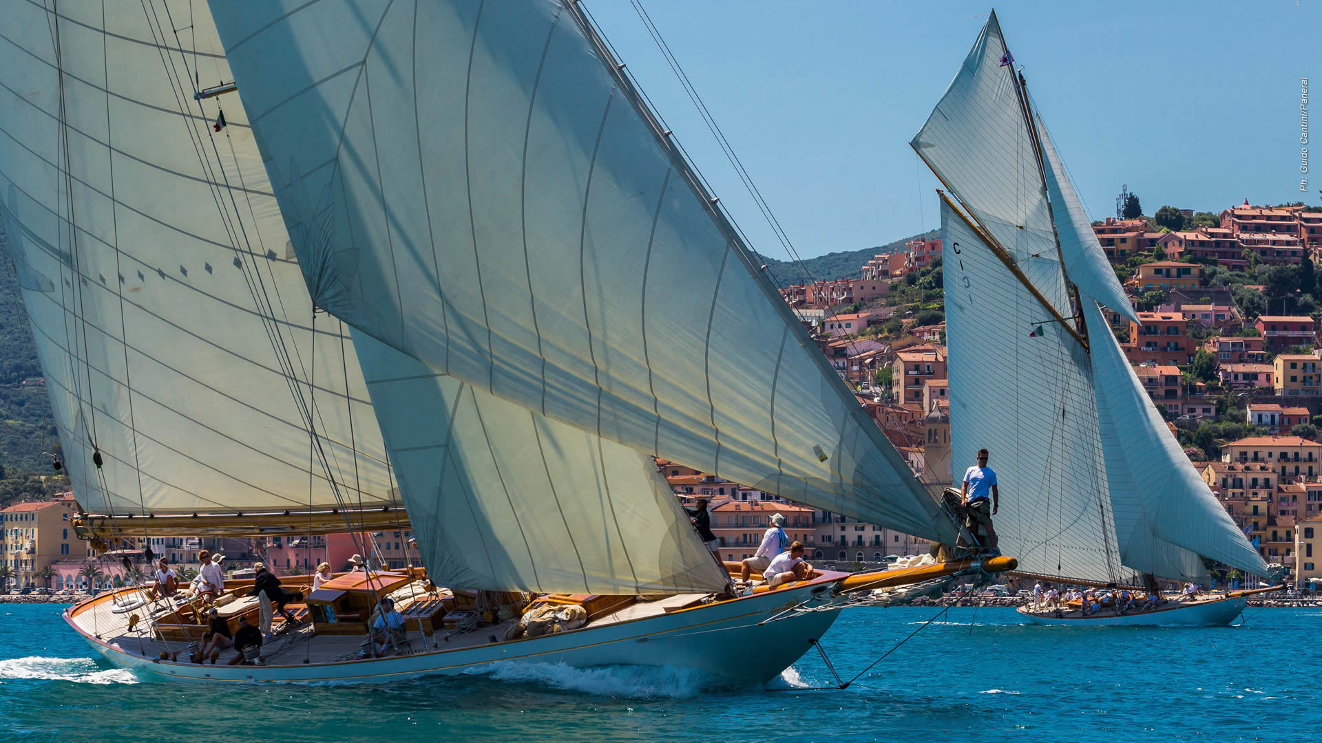 1920x1080 Panerai Classic Yachts Challenge: the largest international circuit of  regattas reserved for classic yachts