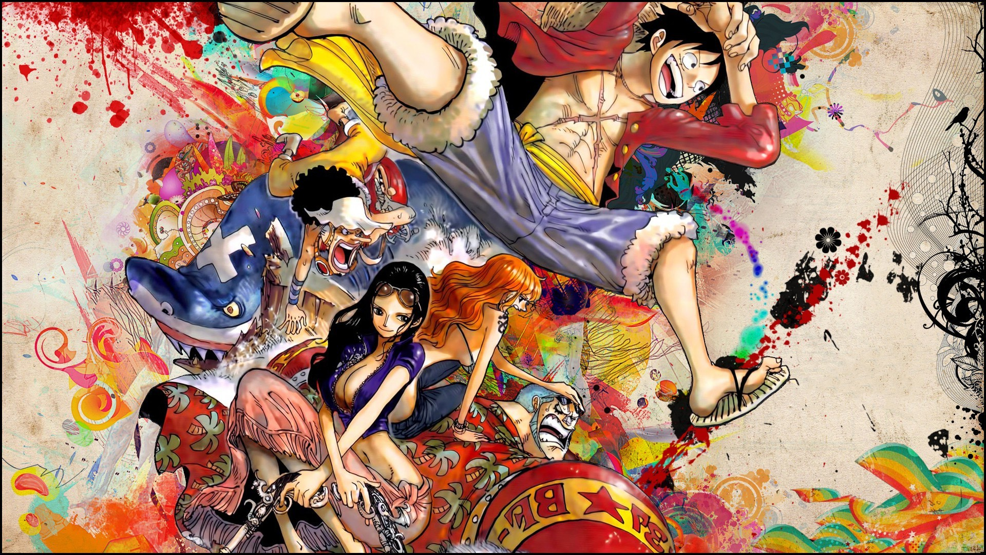 1920x1080 anime, One Piece, Monkey D. Luffy, Snyp Wallpapers HD / Desktop and Mobile  Backgrounds