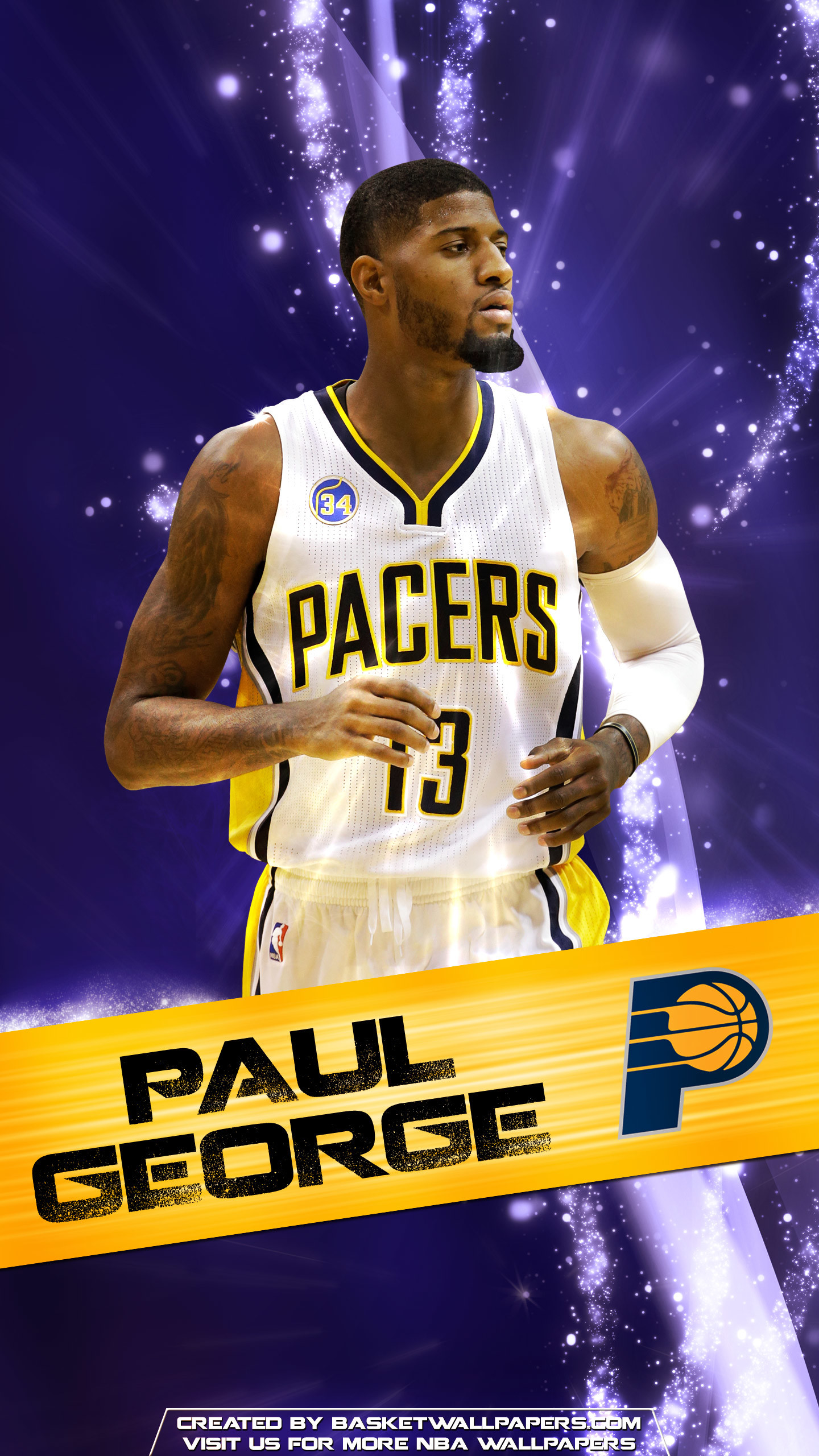 Paul George iPhone Wallpaper (74+ images)