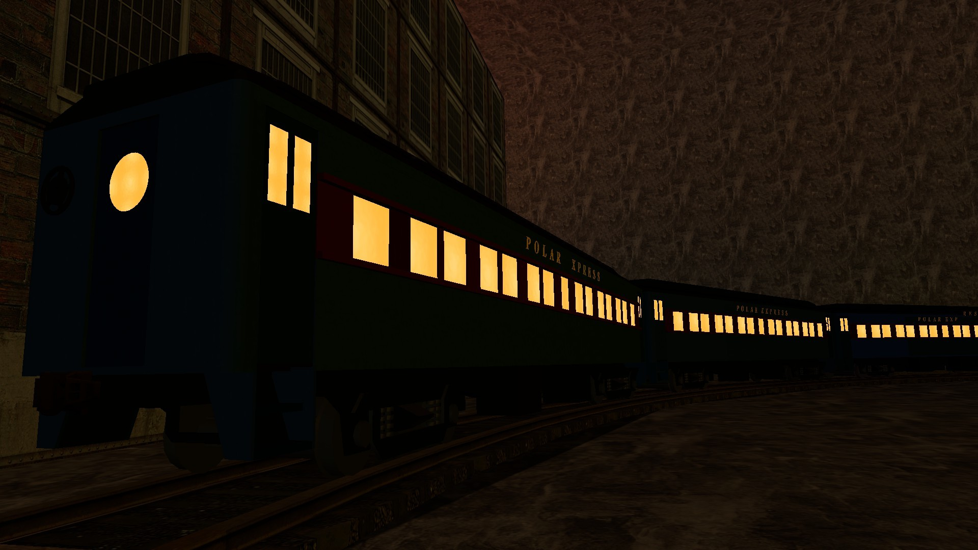 1920x1080 Polar Express coaches by Extremer9000 Polar Express coaches by Extremer9000