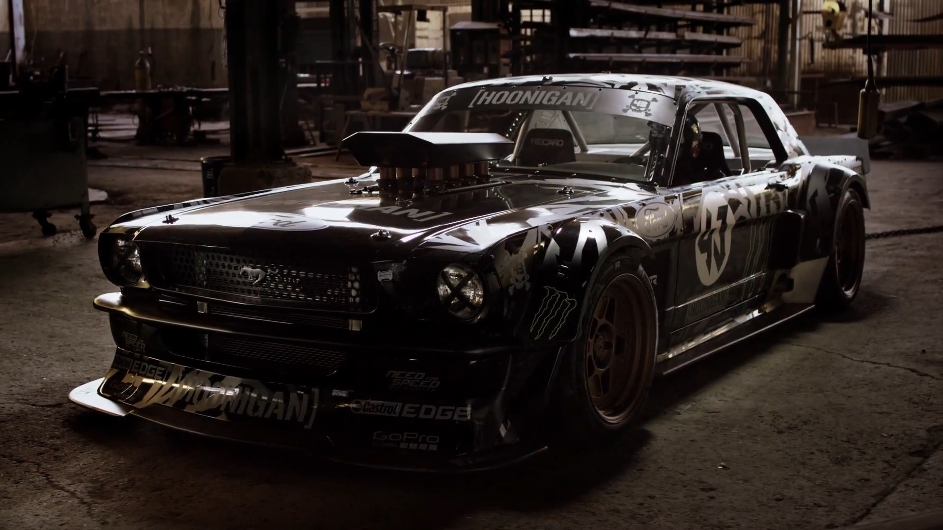 1920x1080 Ken Block's new Hoonicorn ...