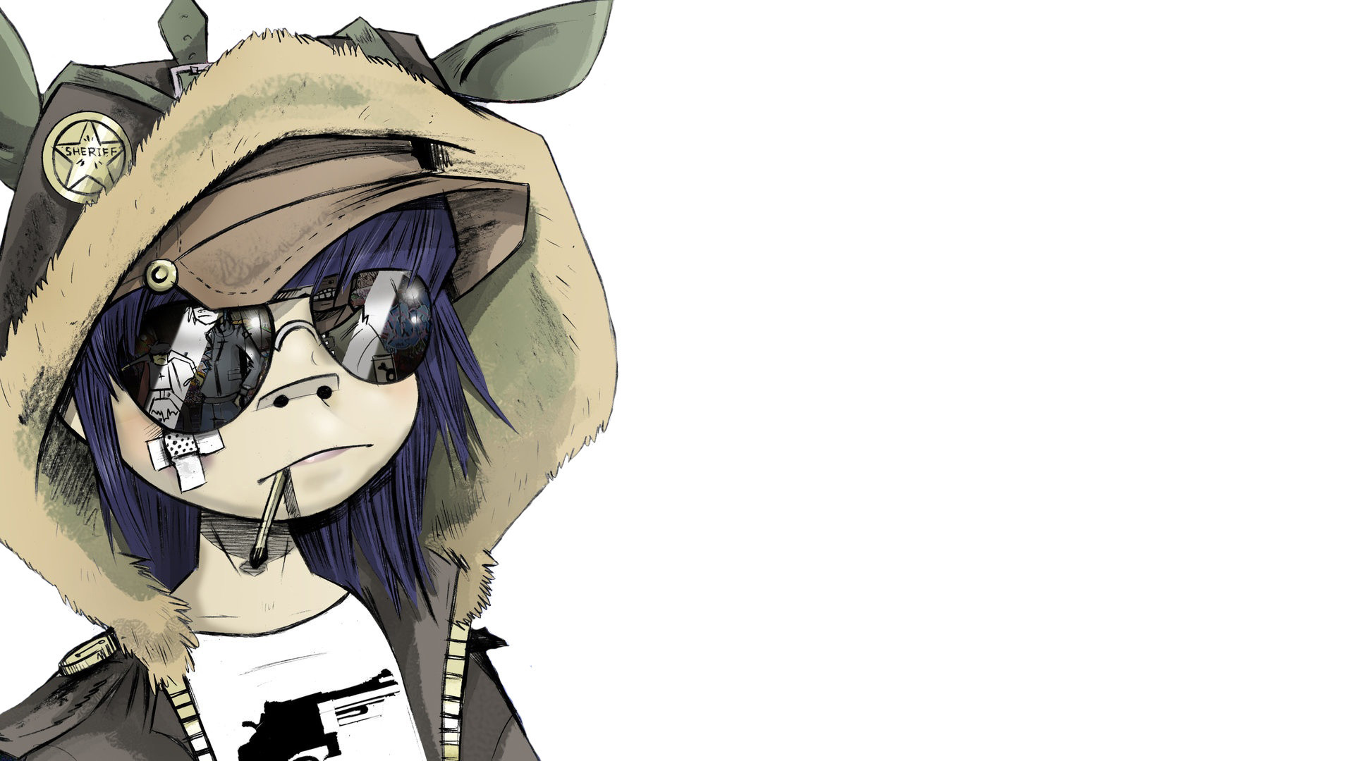 1920x1080 1680x1050 Gorillaz 2d Stuart Pot  Wallpaper Art Hd Wallpaper