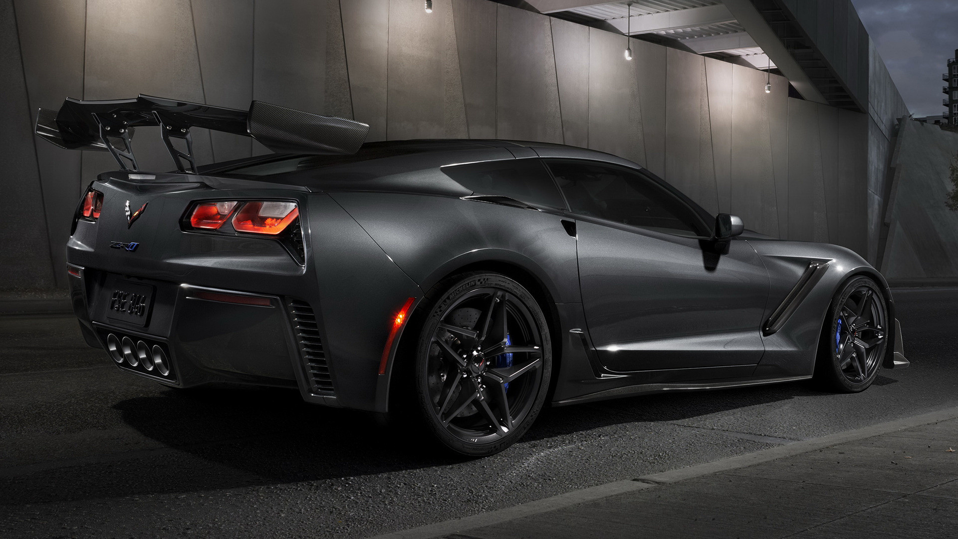 1920x1200 2009 Chevy Corvette ZR1 Wallpaper