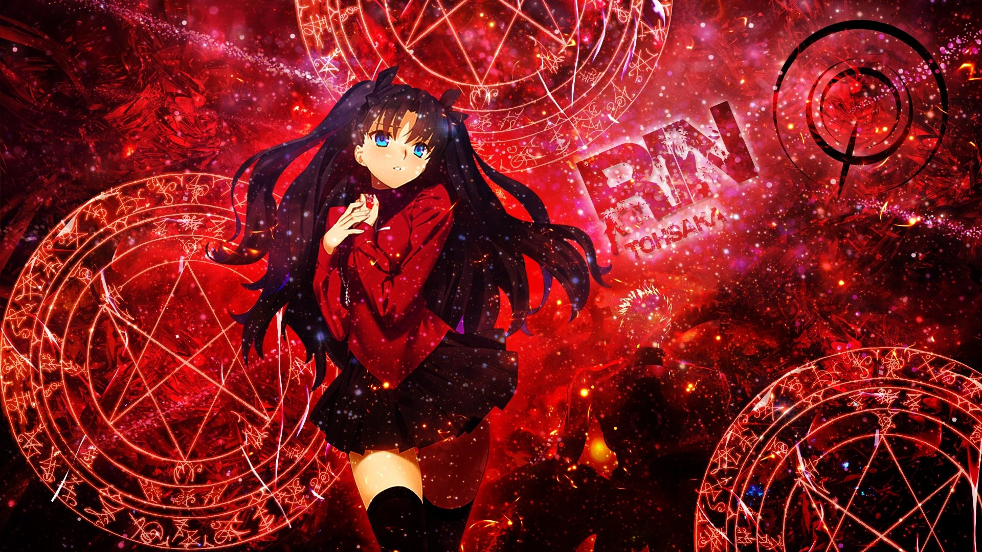 1920x1080 ... Unlimited Blade Works Rin Tohsaka · HD Wallpaper | Background ID:629534