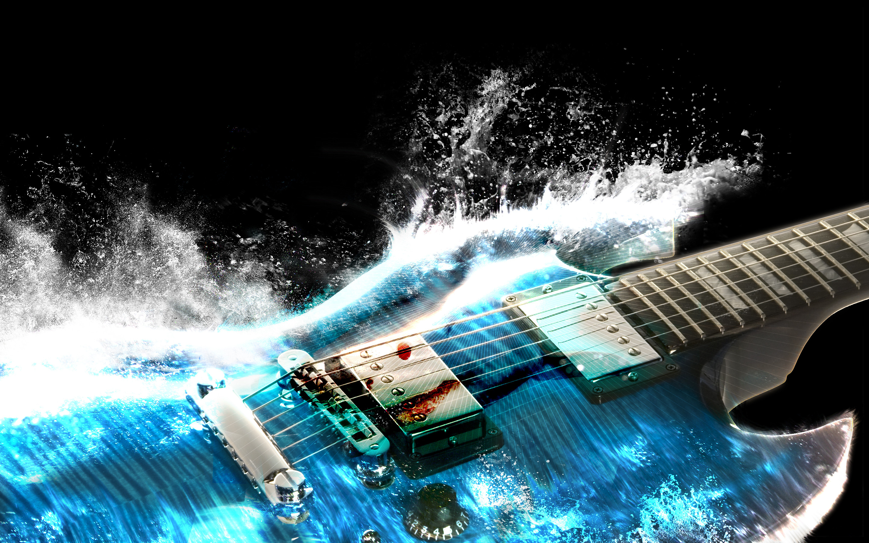 2880x1800 Guitar Wallpaper Images