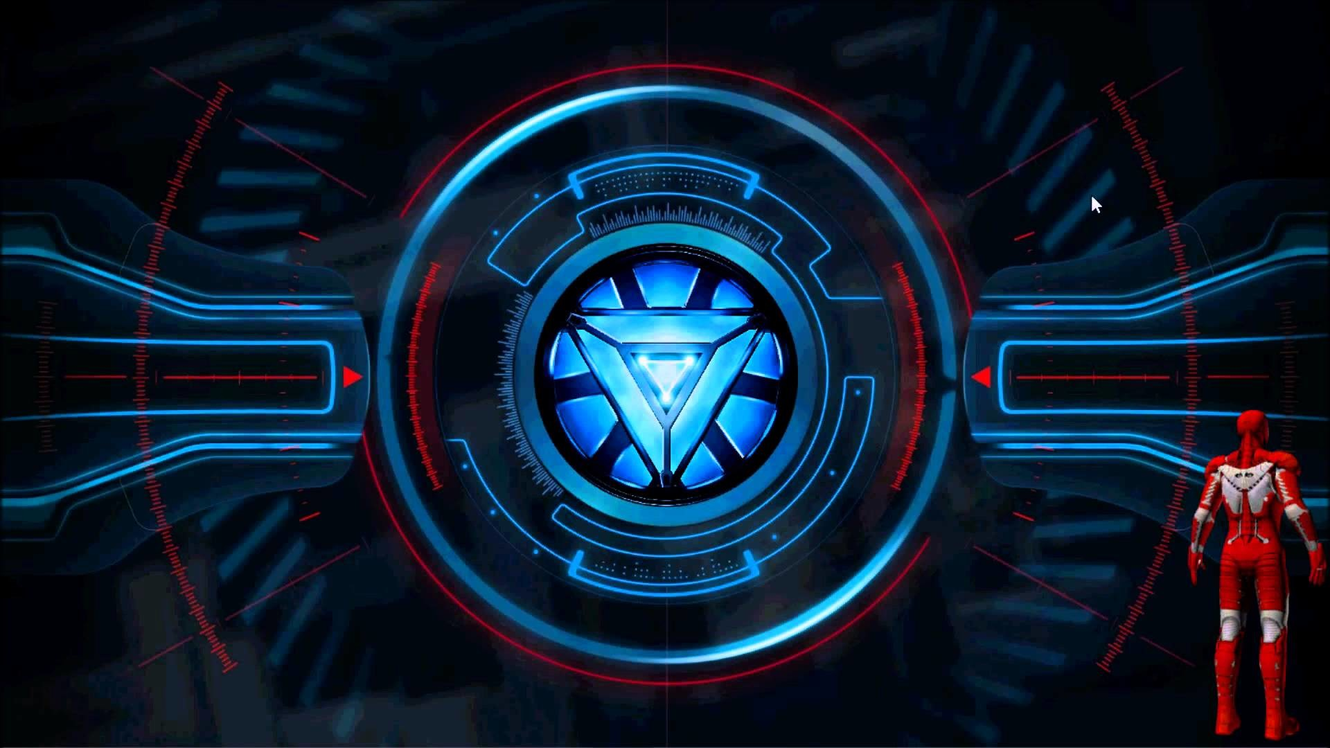 1920x1080 Animated Arc Reactor Rainmeter Skin - YouTube | 1920 x 1080 jpeg 145kB