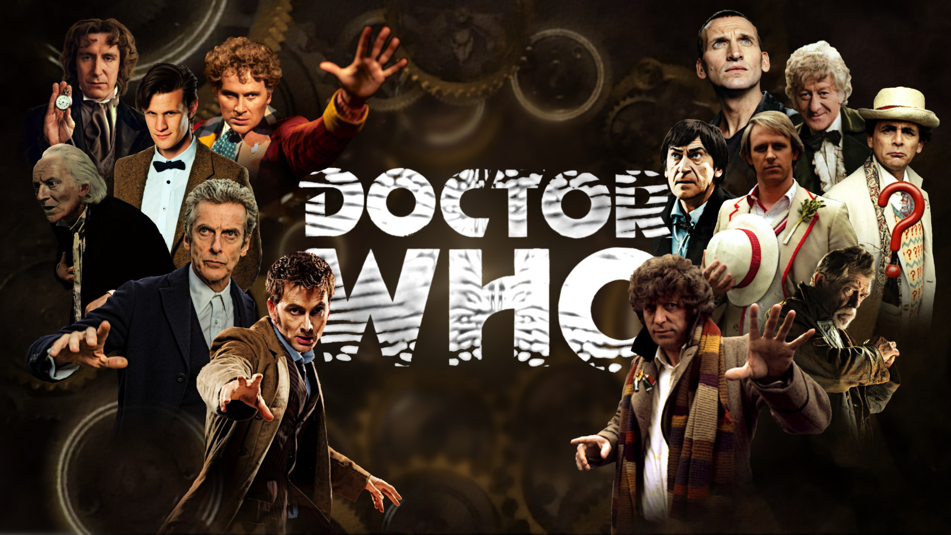 1920x1080 Doctor Who Ultimate Poster 13 Regenerations