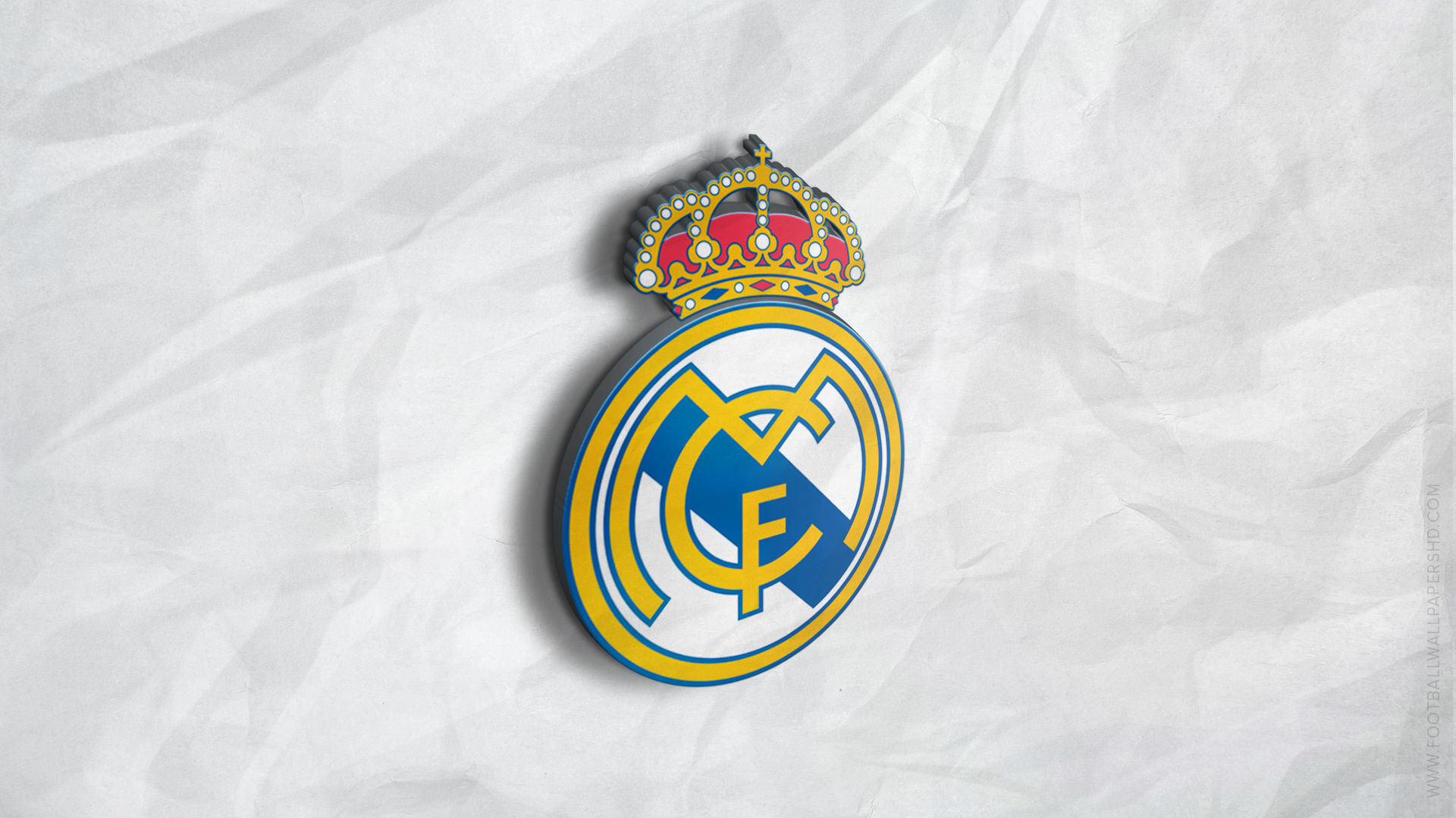 1920x1080 real madrid 3d logo football image wallpaper ...