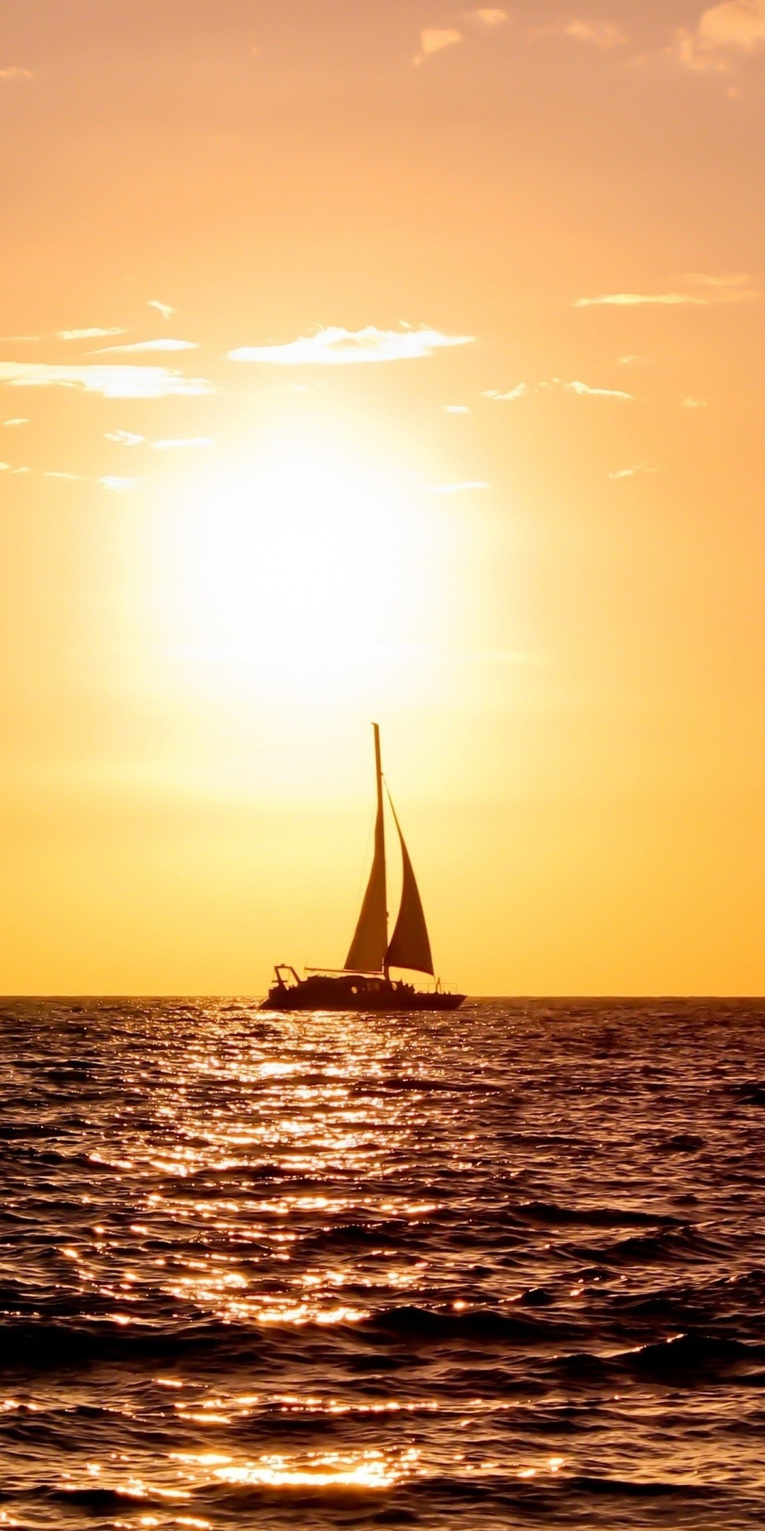 1080x2160 Sailboat Ultra HD Wallpaper  768x1536
