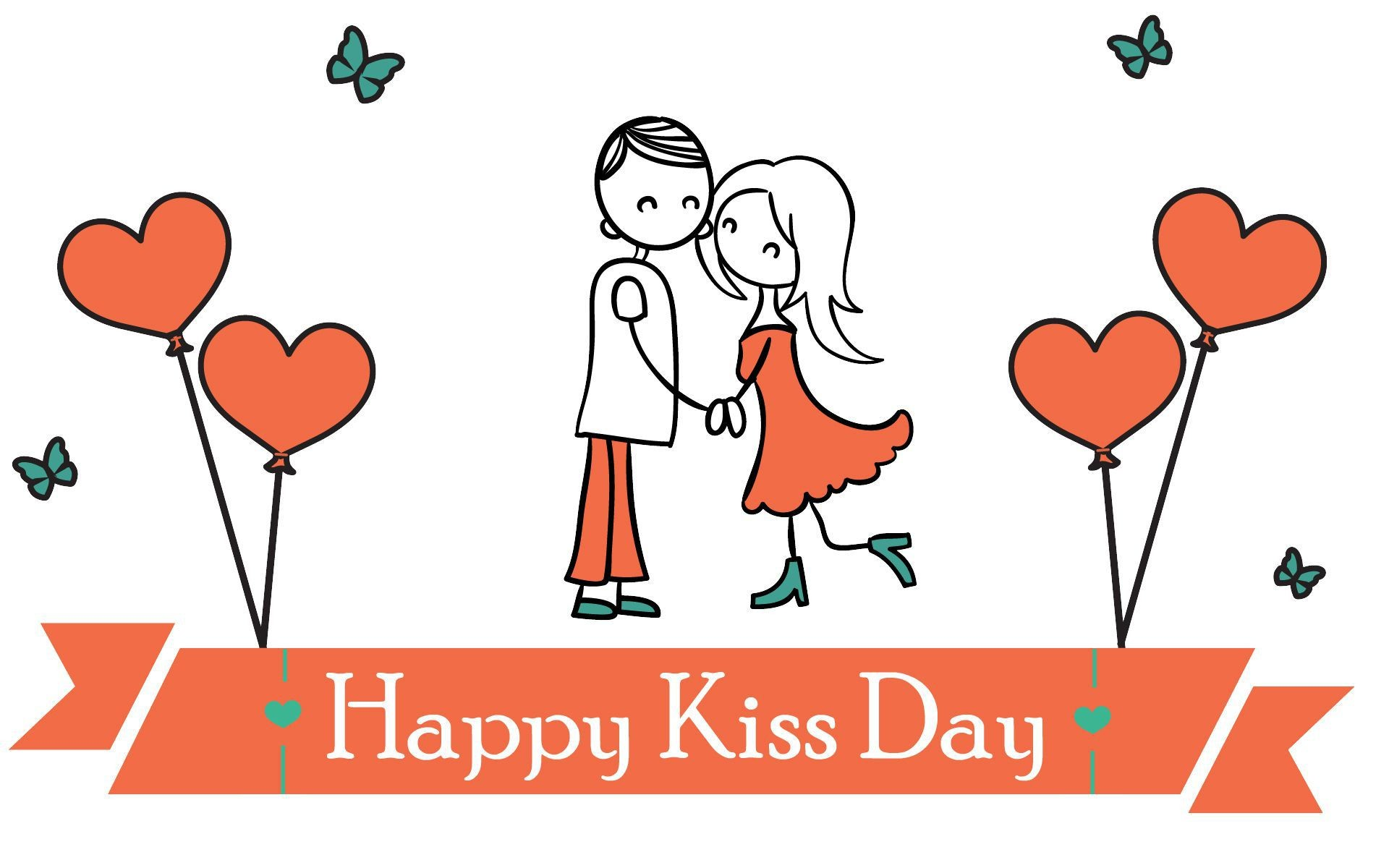 1920x1200 Happy kiss day images 2017
