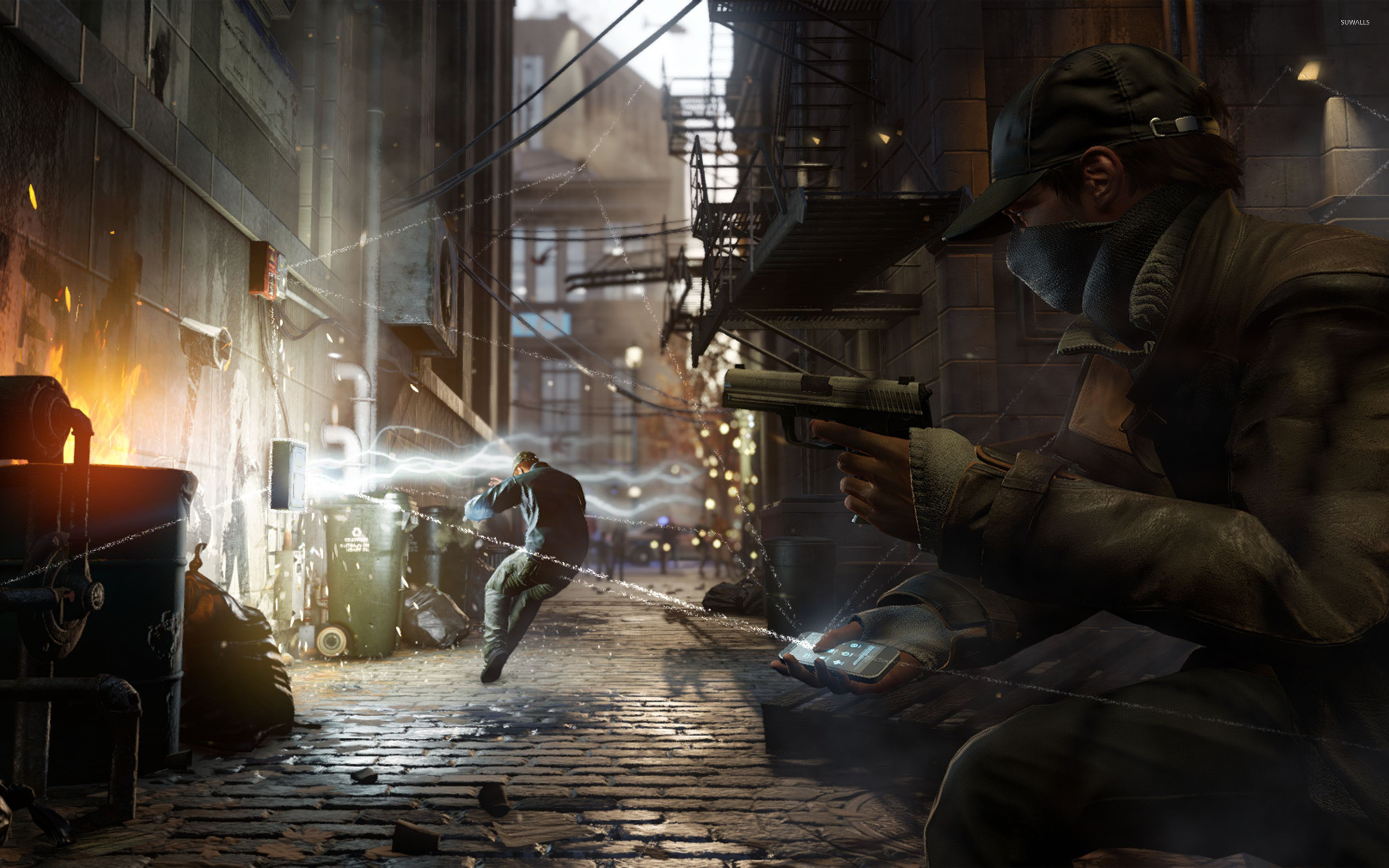 2880x1800 Download Watch Dogs DedSec Logo HD Wallpaper x Video 2880×1800