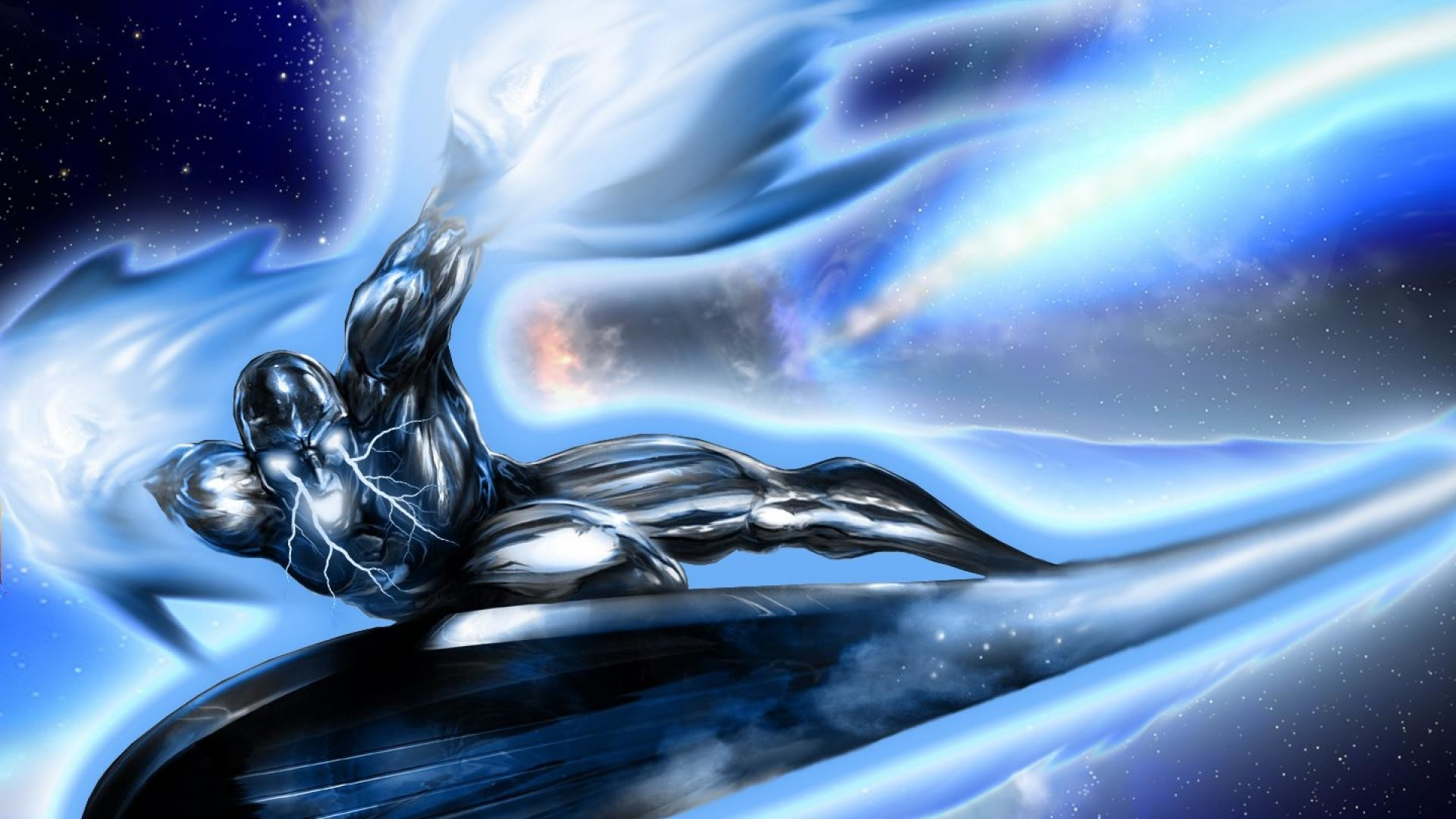 1920x1080 Silver Surfer Wallpaper