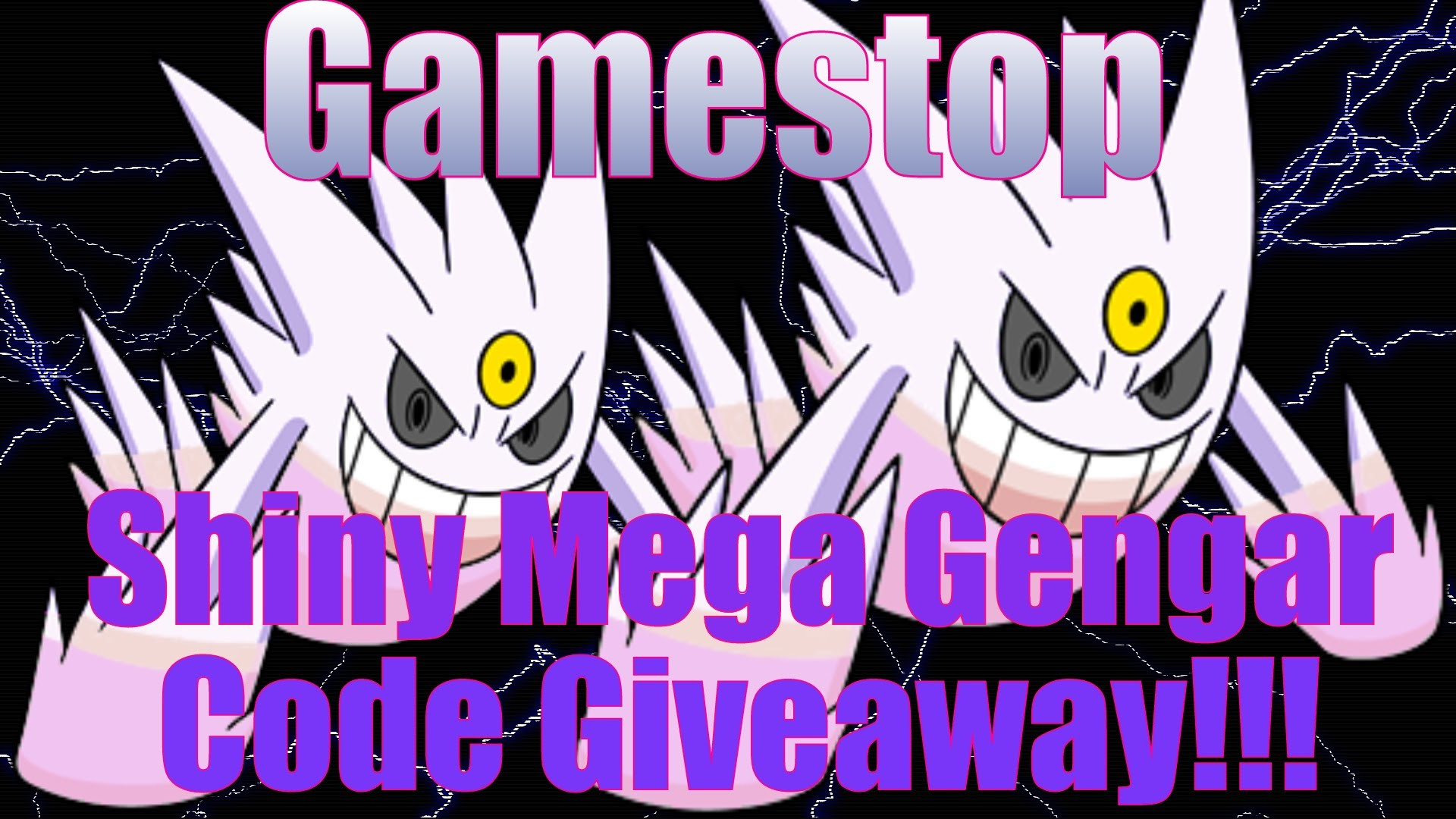 1920x1080 Pokemon X and Y: Shiny Mega Gengar code Giveaway!!