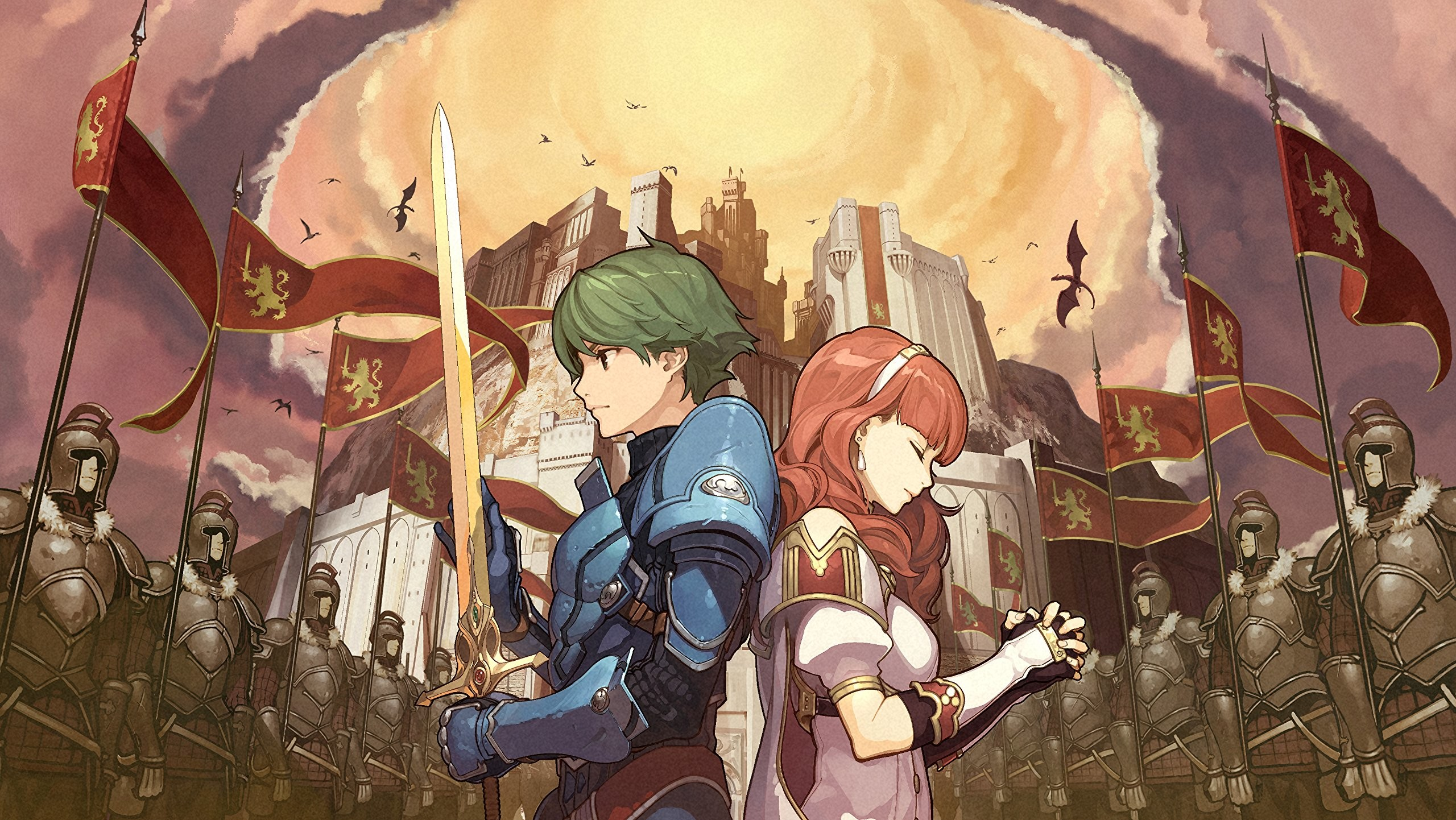 2560x1442 Fire Emblem Echoes: Shadows of Valentia - Nintendo 3DS Standard Edition