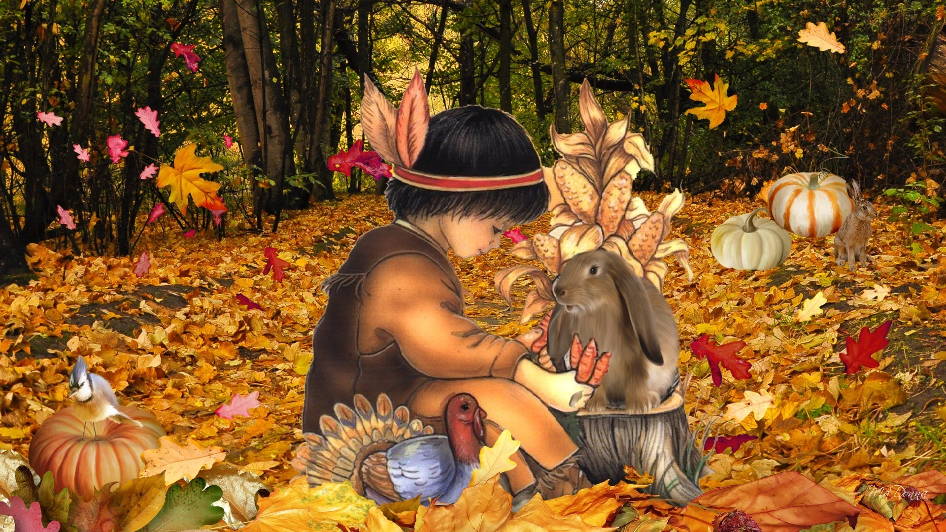 1920x1080 <b>Thanksgiving</b> Day <b>Wallpaper</b