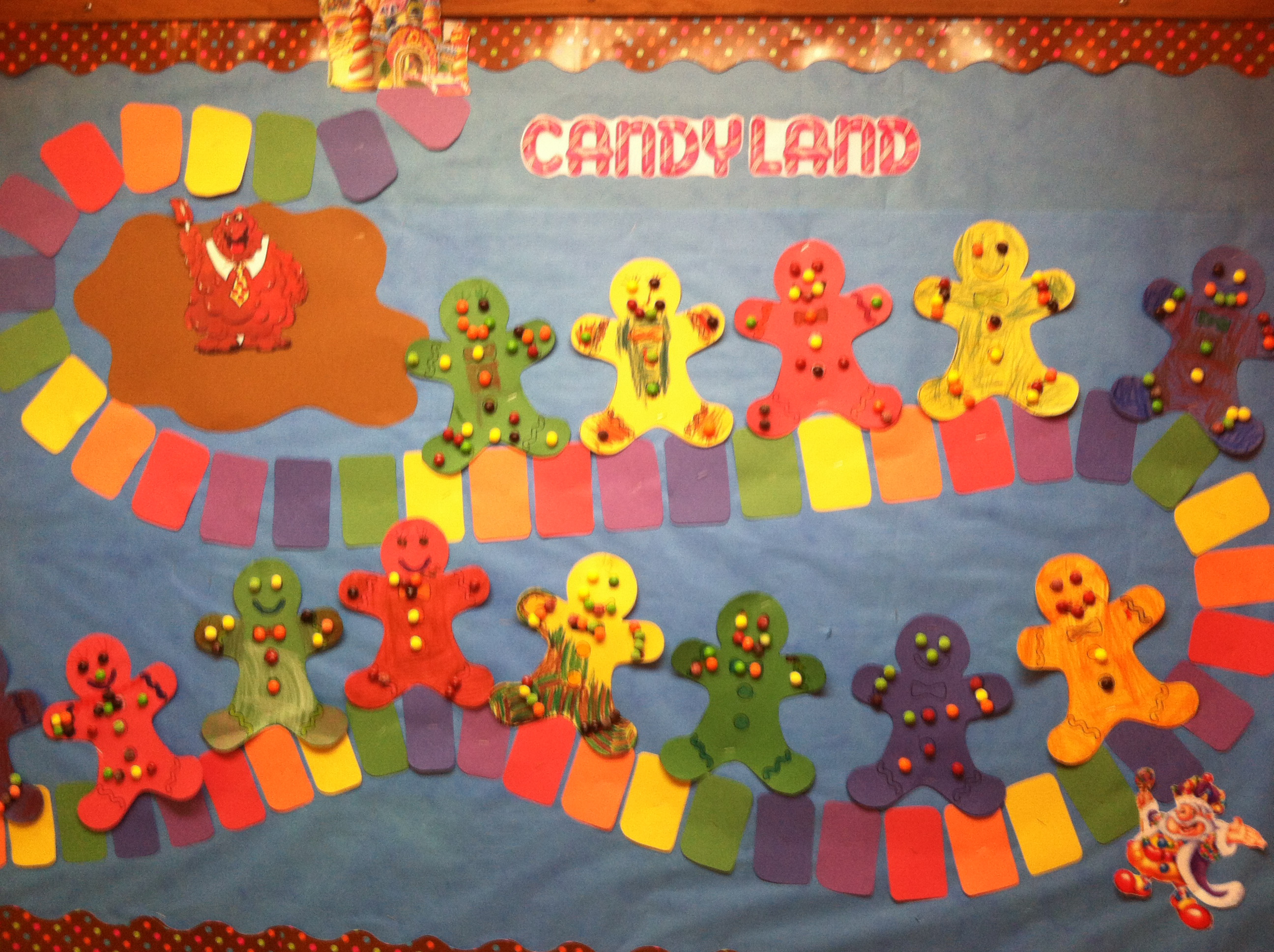 2592x1936 candy land bulletin board i did for my christmas theme - Candyland Christmas Theme