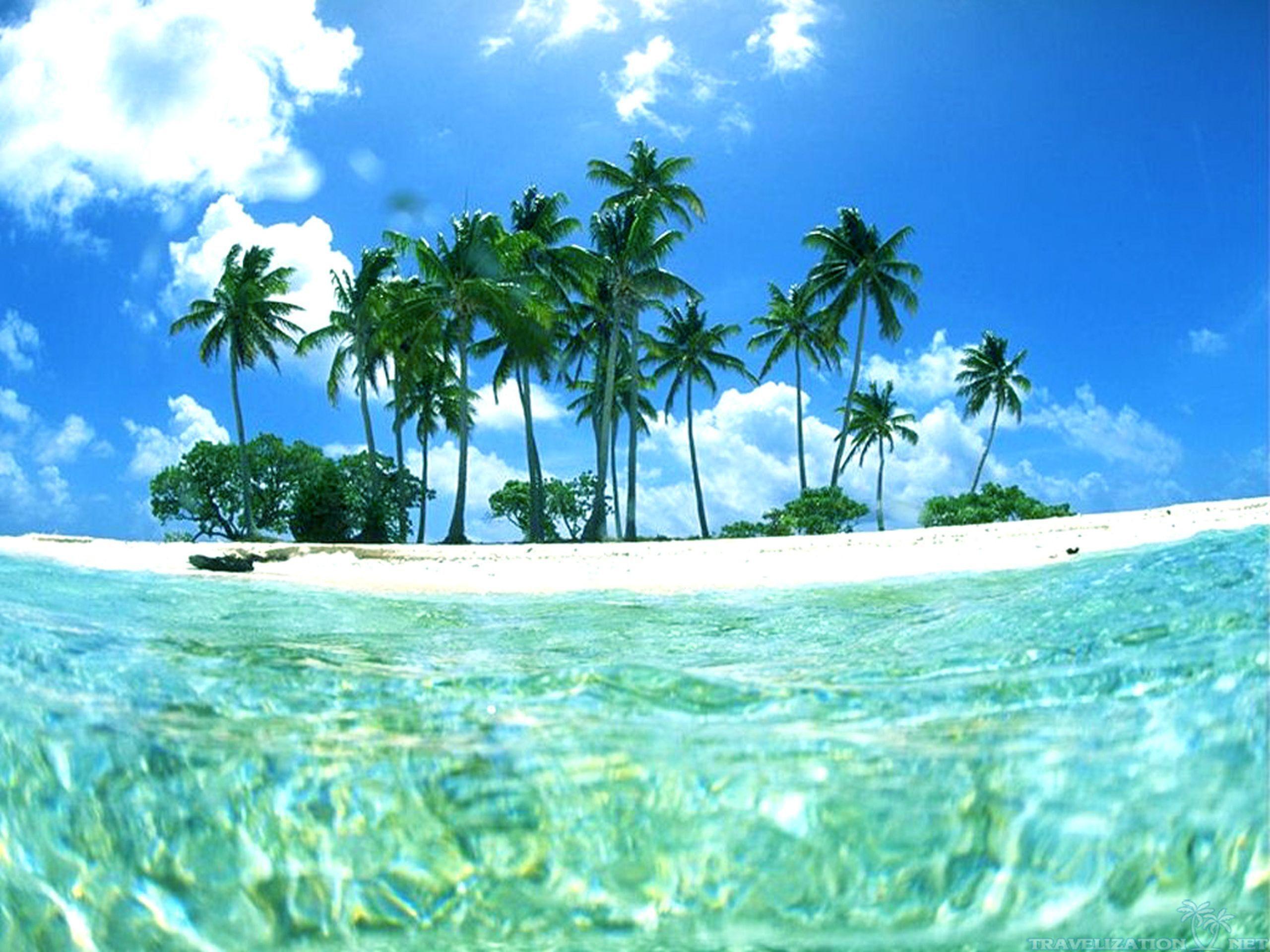 1920x1200 Tropical Beach Bungalows HD Wallpaper