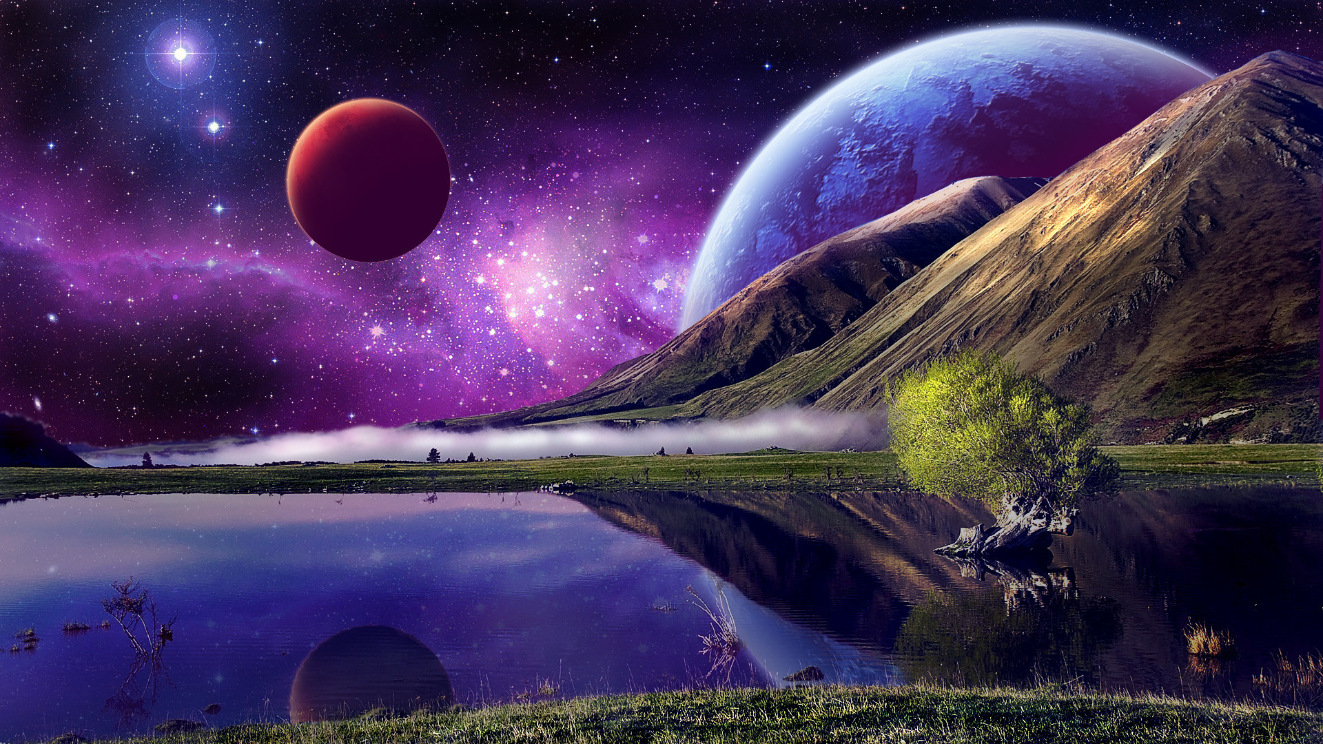 1920x1080 Wallpaperwiki 1080p Space Background Free Download PIC