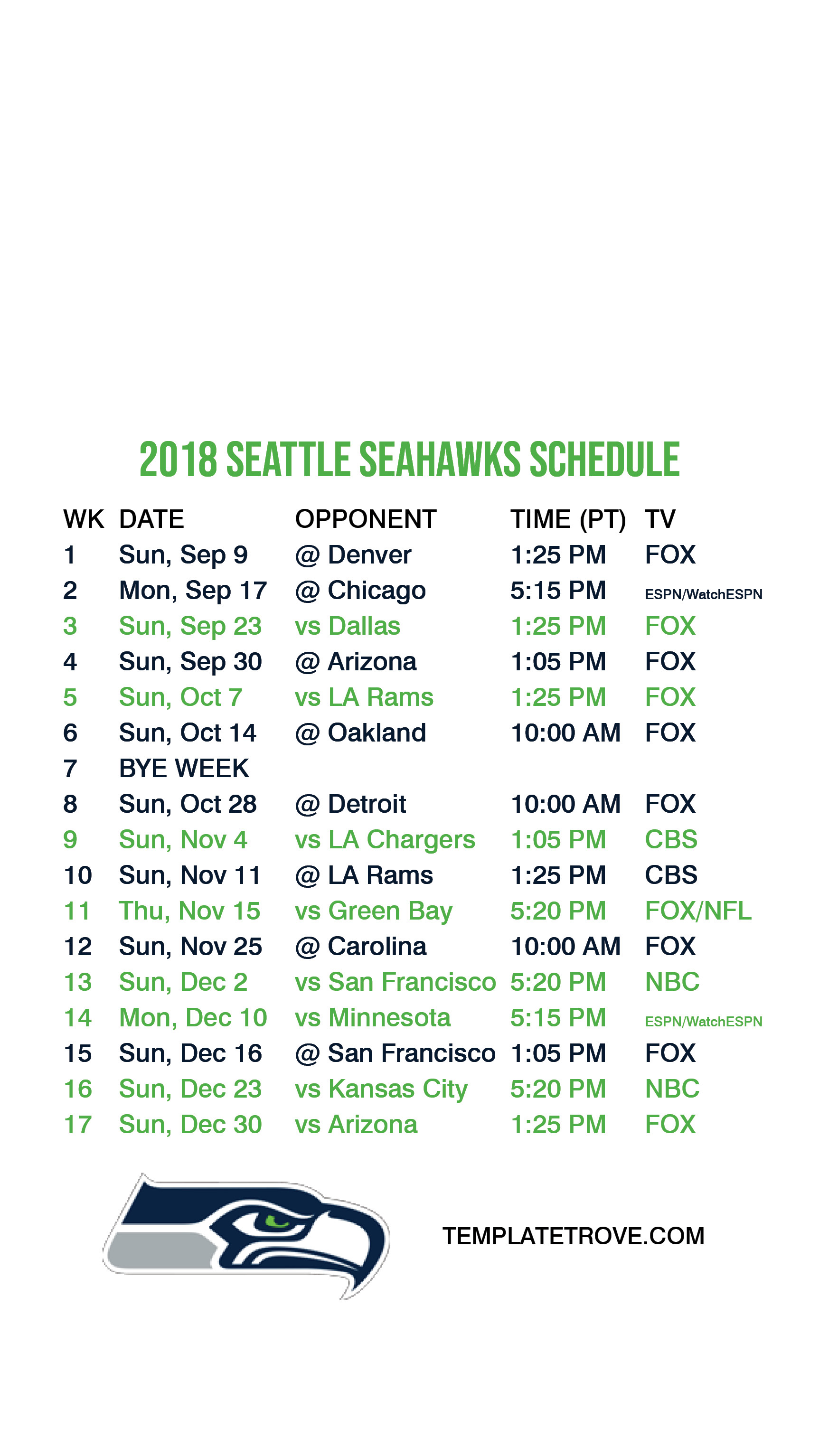 1725x3067 2018 Seattle Seahawks Lock Screen Schedule. Download Lock Screen Schedule