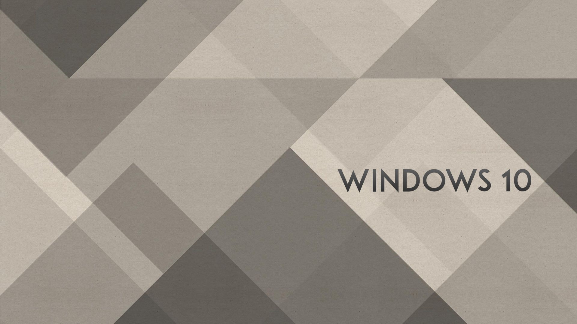 1920x1080 Windows 10 Wallpaper 1080p Full HD Grey Abstract - HD-Desktop