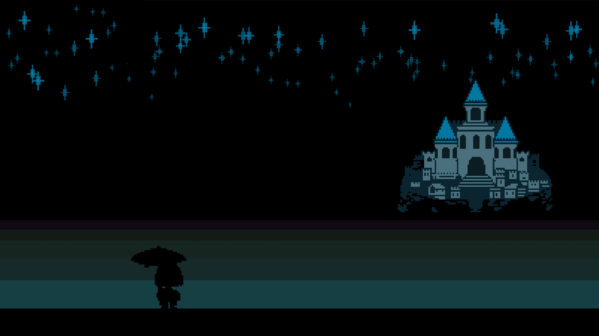 1920x1080 ... undertale frisk kingdom night 8 bit wallpapers hd desktop ...