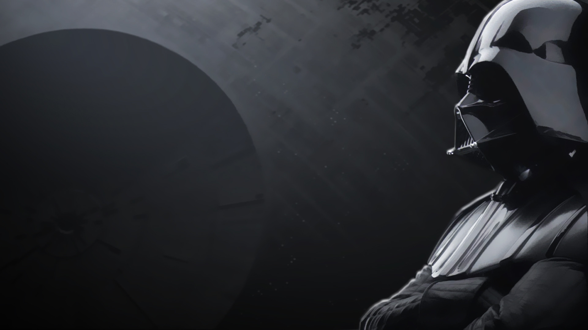 1920x1080 Vader Deathstar Wallpaper Custom Art Statistics