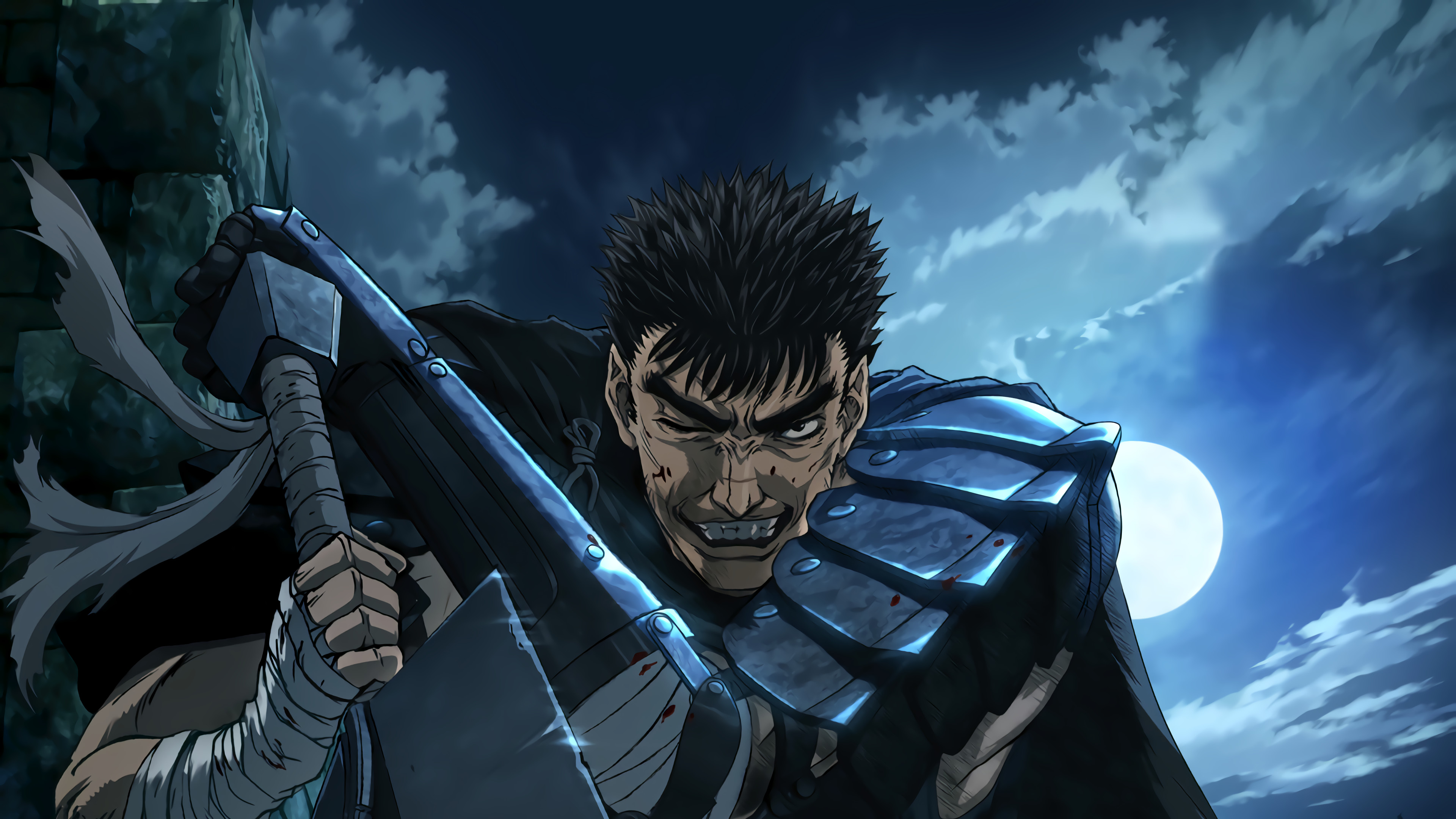 3840x2160 Guts Berserk Wallpaper High Definition ...