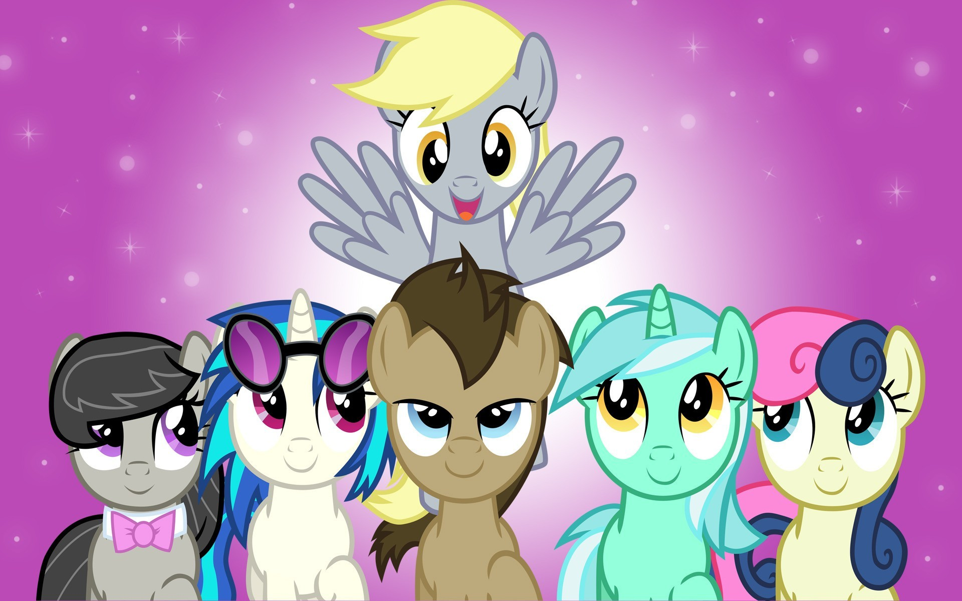 1920x1200 My Little Pony Friendship is Magic Background ...