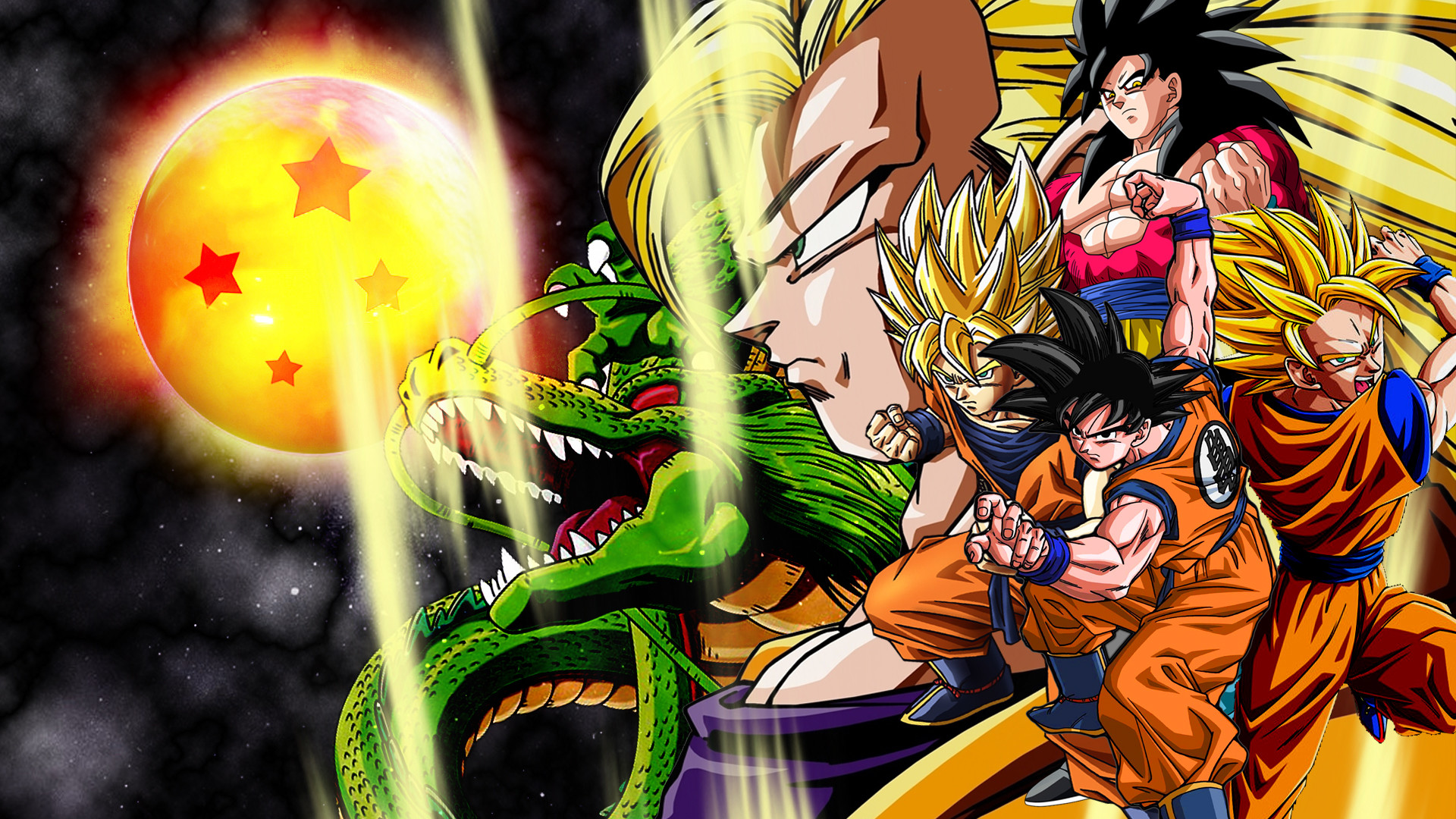 Dragon ball gt wallpaper hd 64 images - Images dragon ball z ...