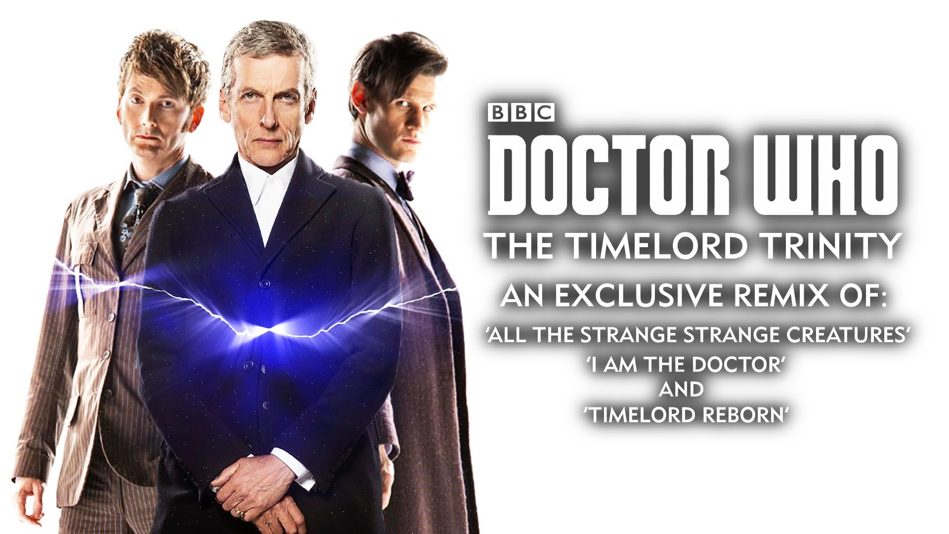 1920x1080 Doctor Who The Timelord Trinity - 10th, 11th and 12th Doctors' Themes -  Whovian Mashup Mix!