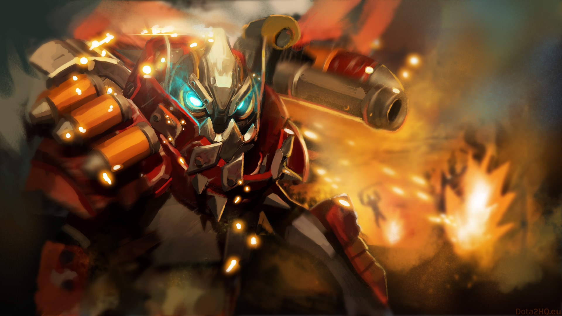 1920x1080 clockwerk robot dota 2 skirmish, Desktop Backgrounds HD 1080p