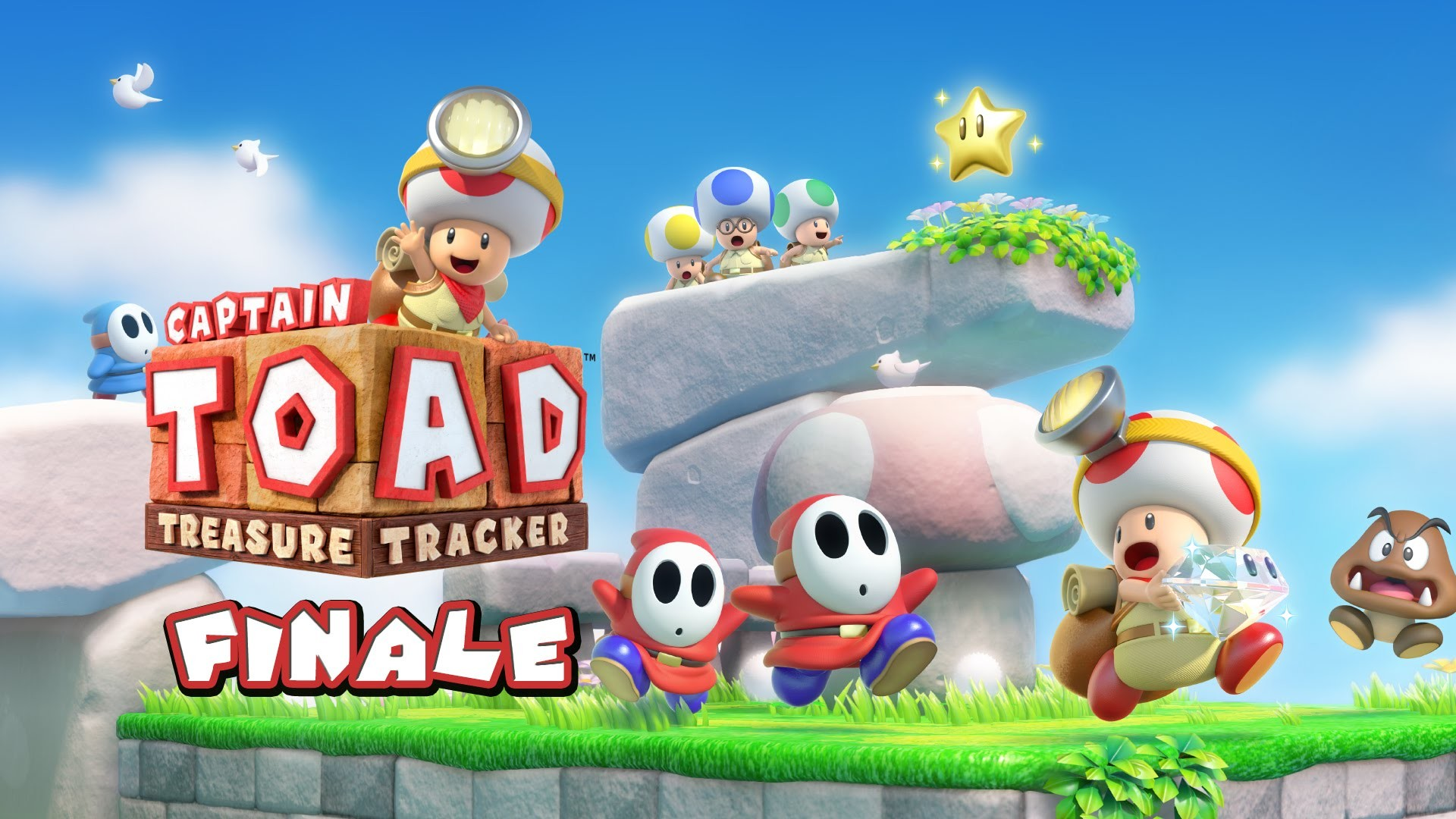 1920x1080 FINALE ♢ Let's Play Captain Toad: Treasure Tracker