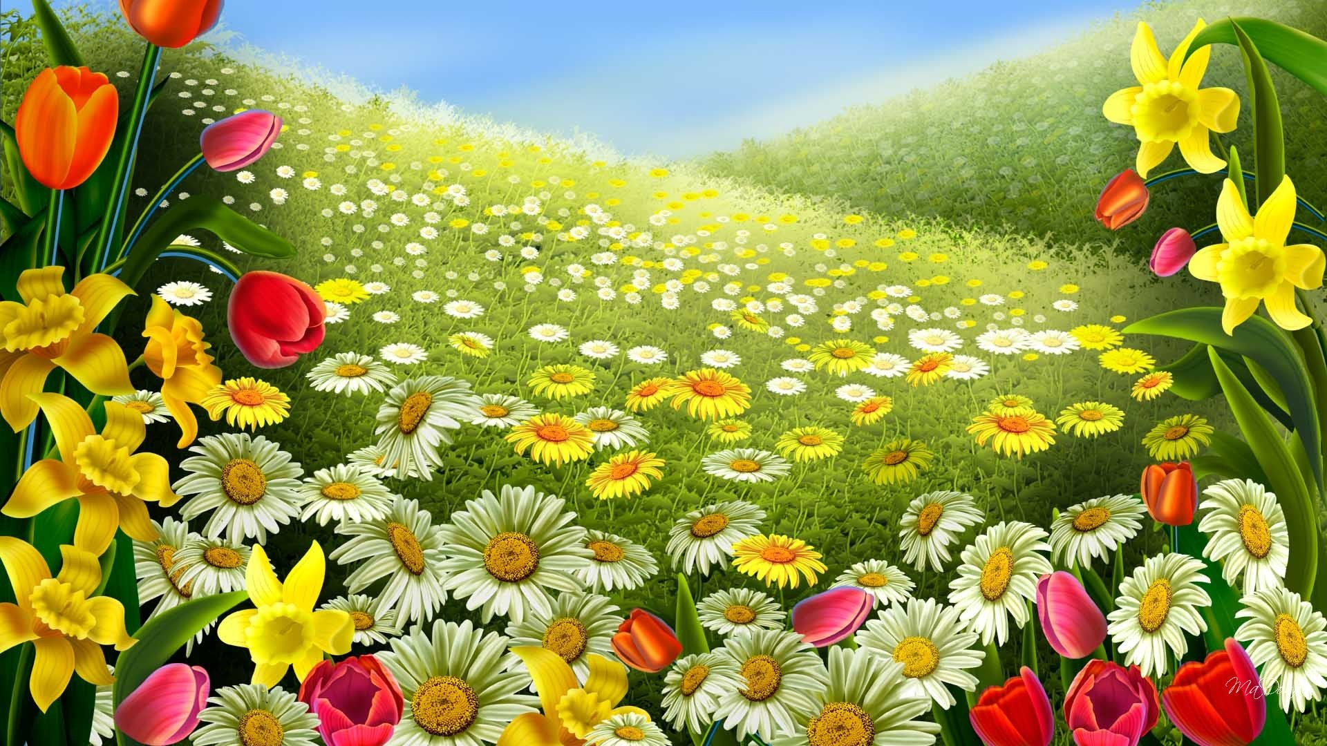 Springtime Animals And Flowers Wallpaper 67 Images