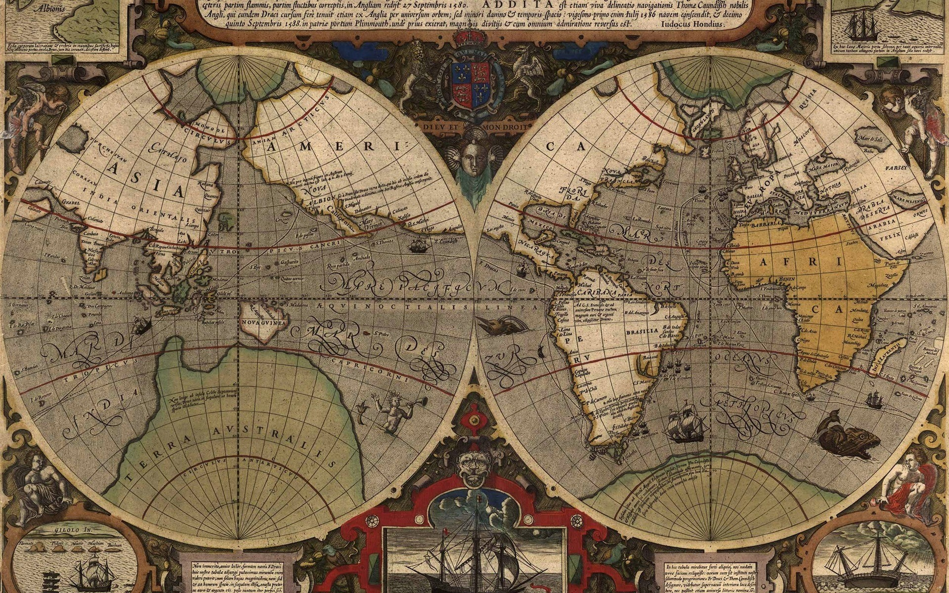 1920x1200 Wallpaper Map, Old Maps, World, Leprosy | HD Desktop Wallpapers
