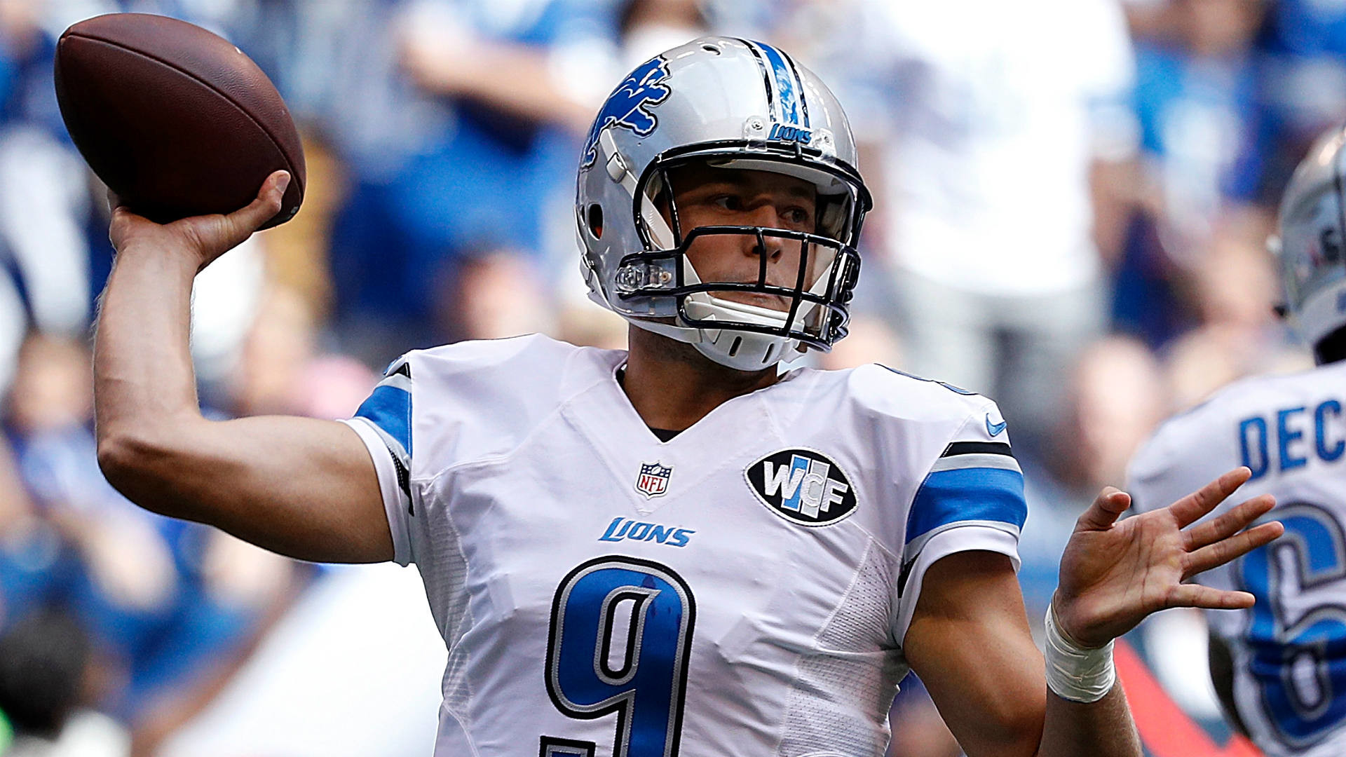 1920x1080 Matthew Stafford, Lions save just enough time to clock Colts in  season-opening win | NFL | Sporting News