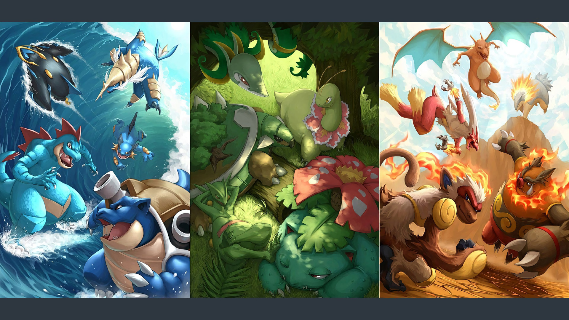 1920x1080 ... Popular Grass Pokemon Wallpapers Collection, Grass Pokemon Wallpapers -   px, 07.06.15