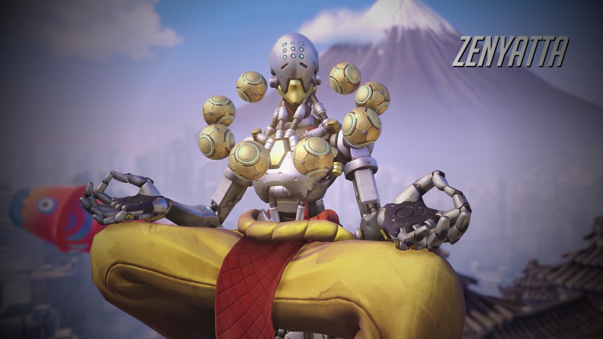 1920x1080 Overwatch Zenyatta Wallpaper High Resolution Is Cool Wallpapers