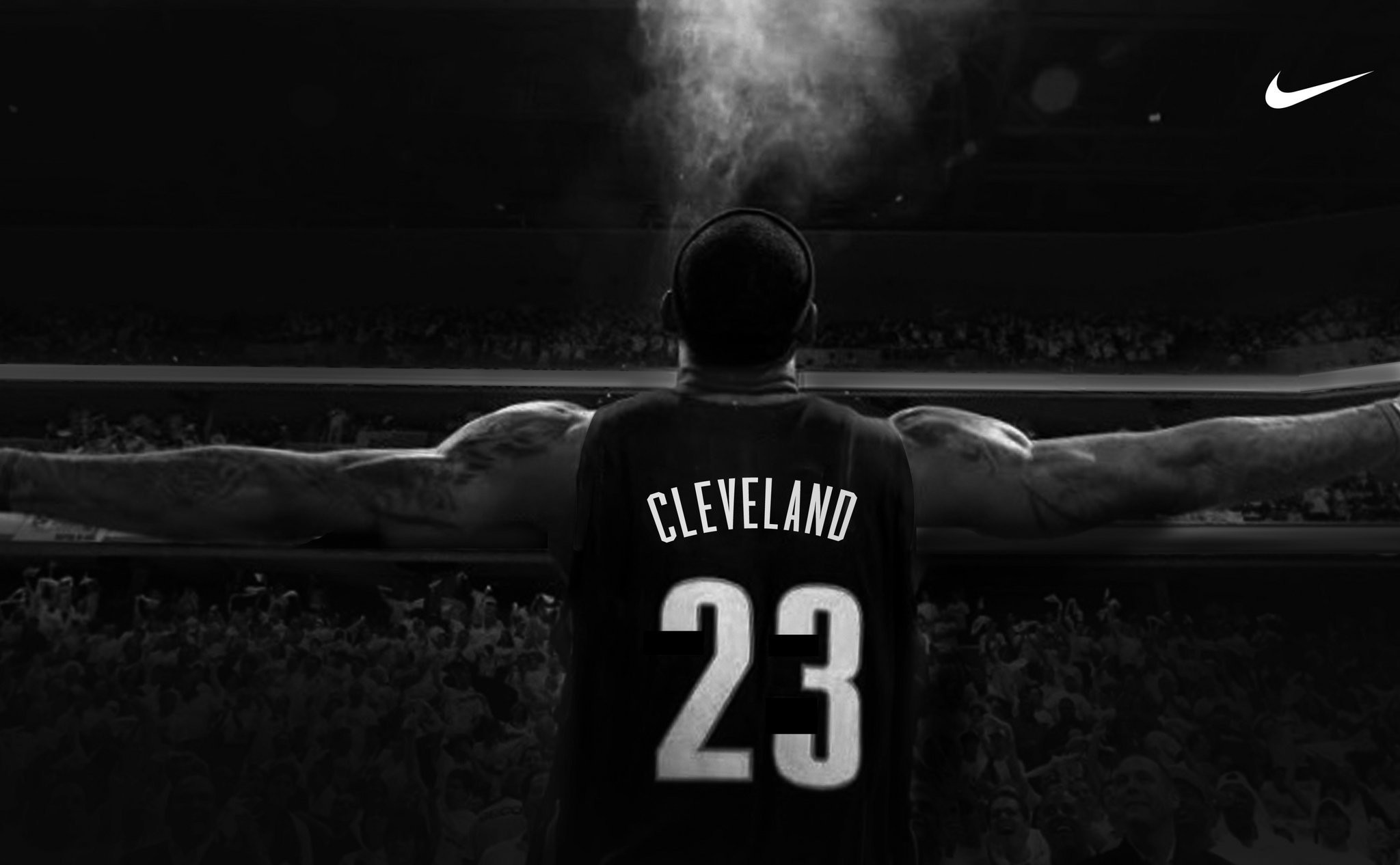 2048x1266 The new LeBron James banner is set to go up across form the Q USATSI