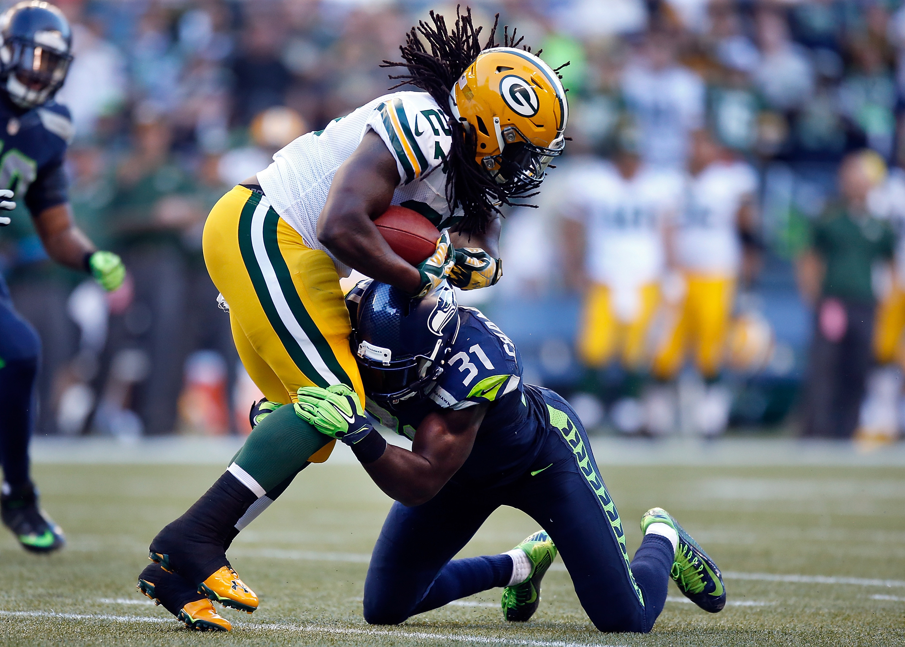 3000x2145 Packers-Seahawks Key Matchups: Eddie Lacy vs. Kam Chancellor