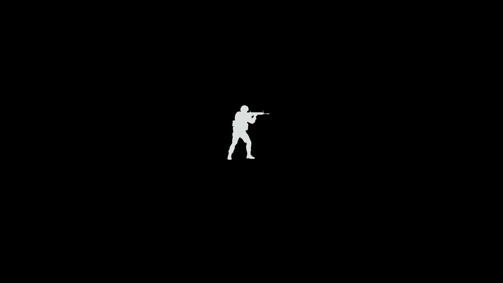 1920x1080 minimalism, Video Games, Counter Strike: Global Offensive, Black Wallpapers  HD / Desktop and Mobile Backgrounds
