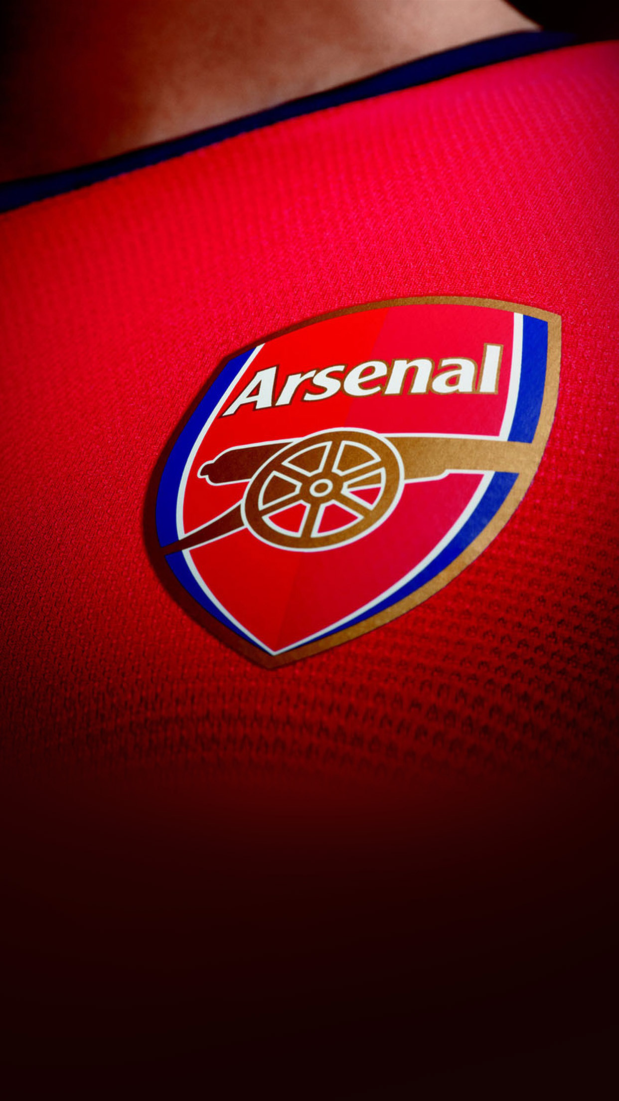 1242x2208 Logo Arsenal Football England Soccer Sports Red Android Wallpaper .
