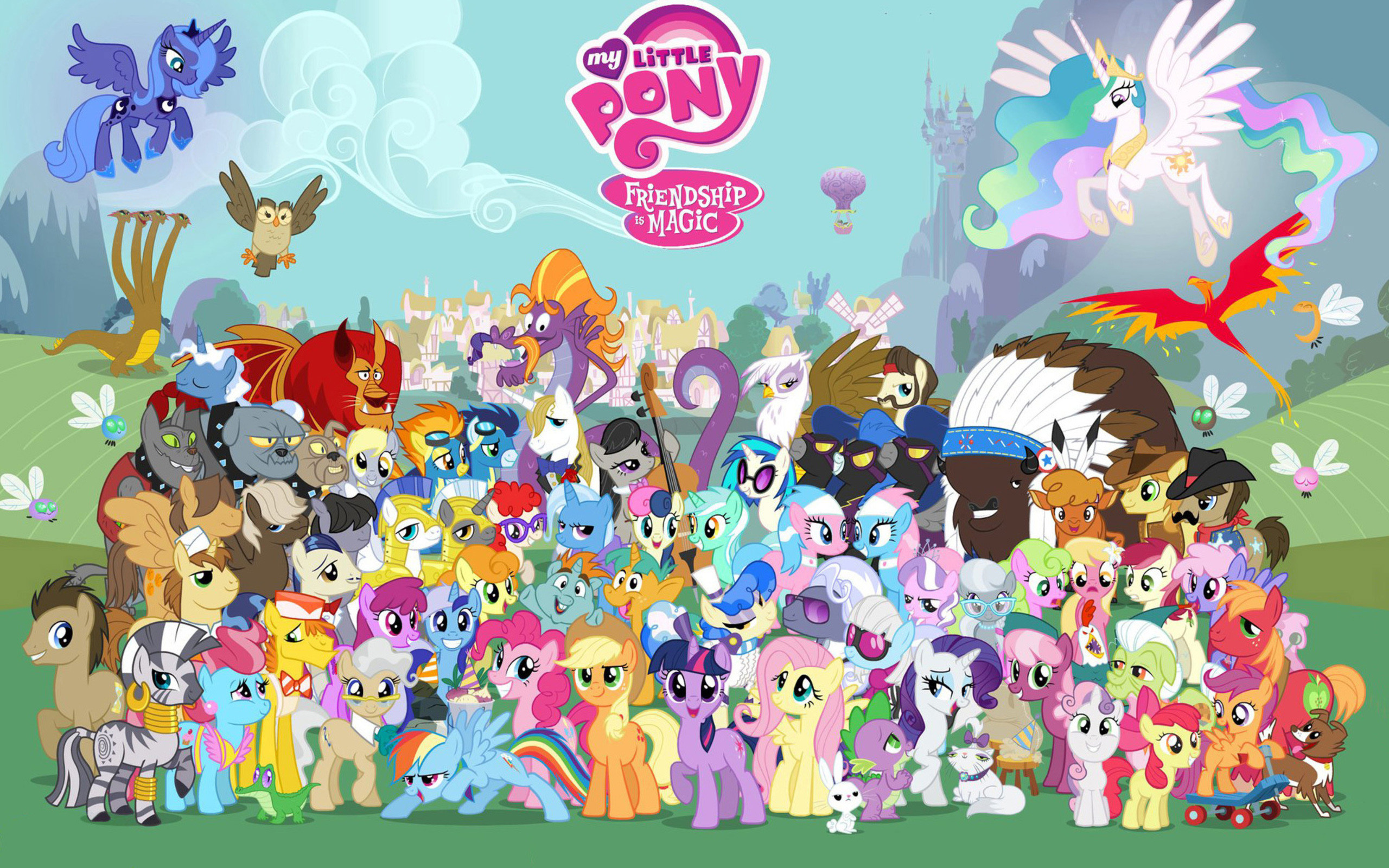 My Little Pony Wallpaper 1920x1080 85 Images
