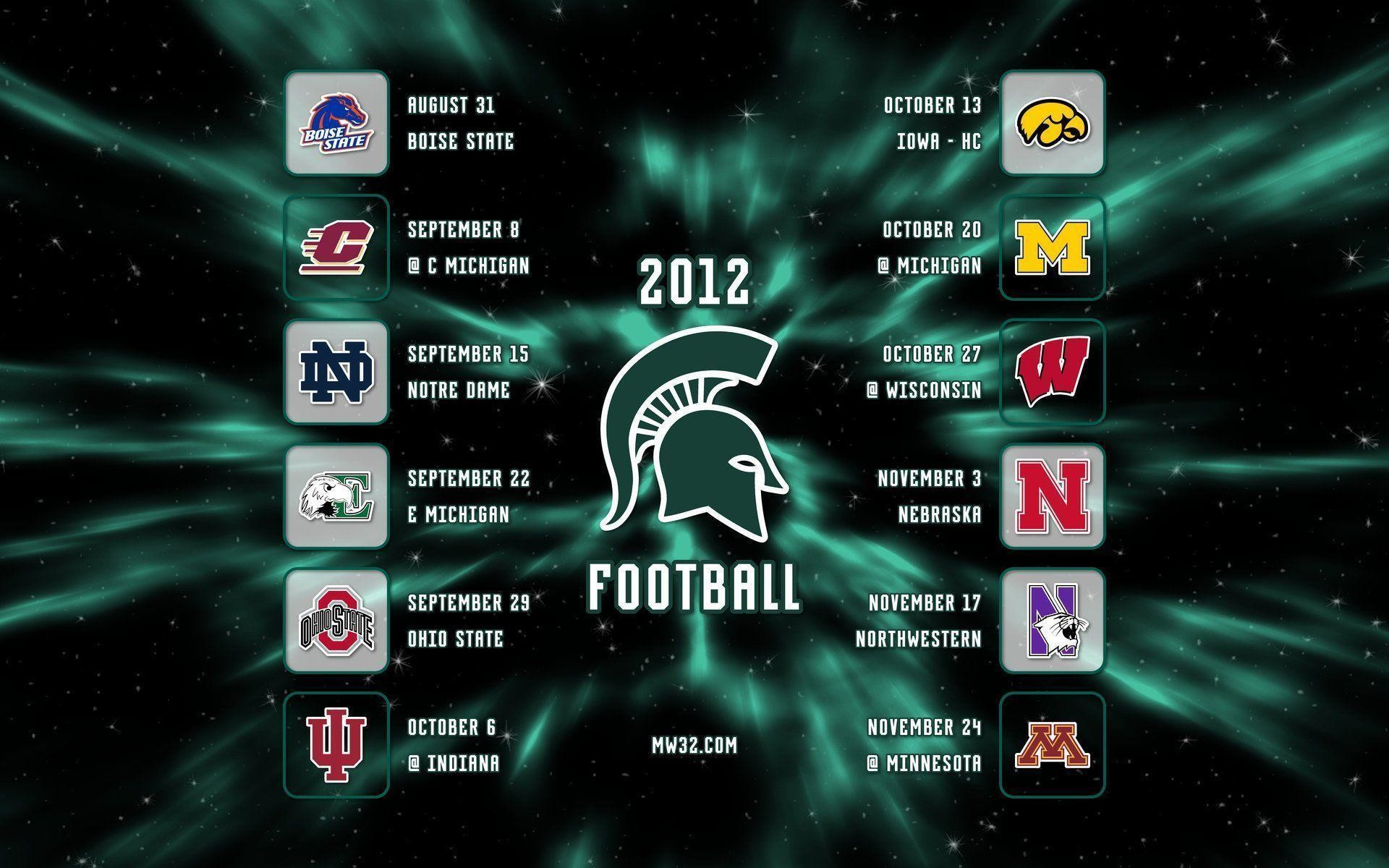 1920x1200 MICHIGAN STATE SPARTANS College Football Wallpaper | 1920X1200 .