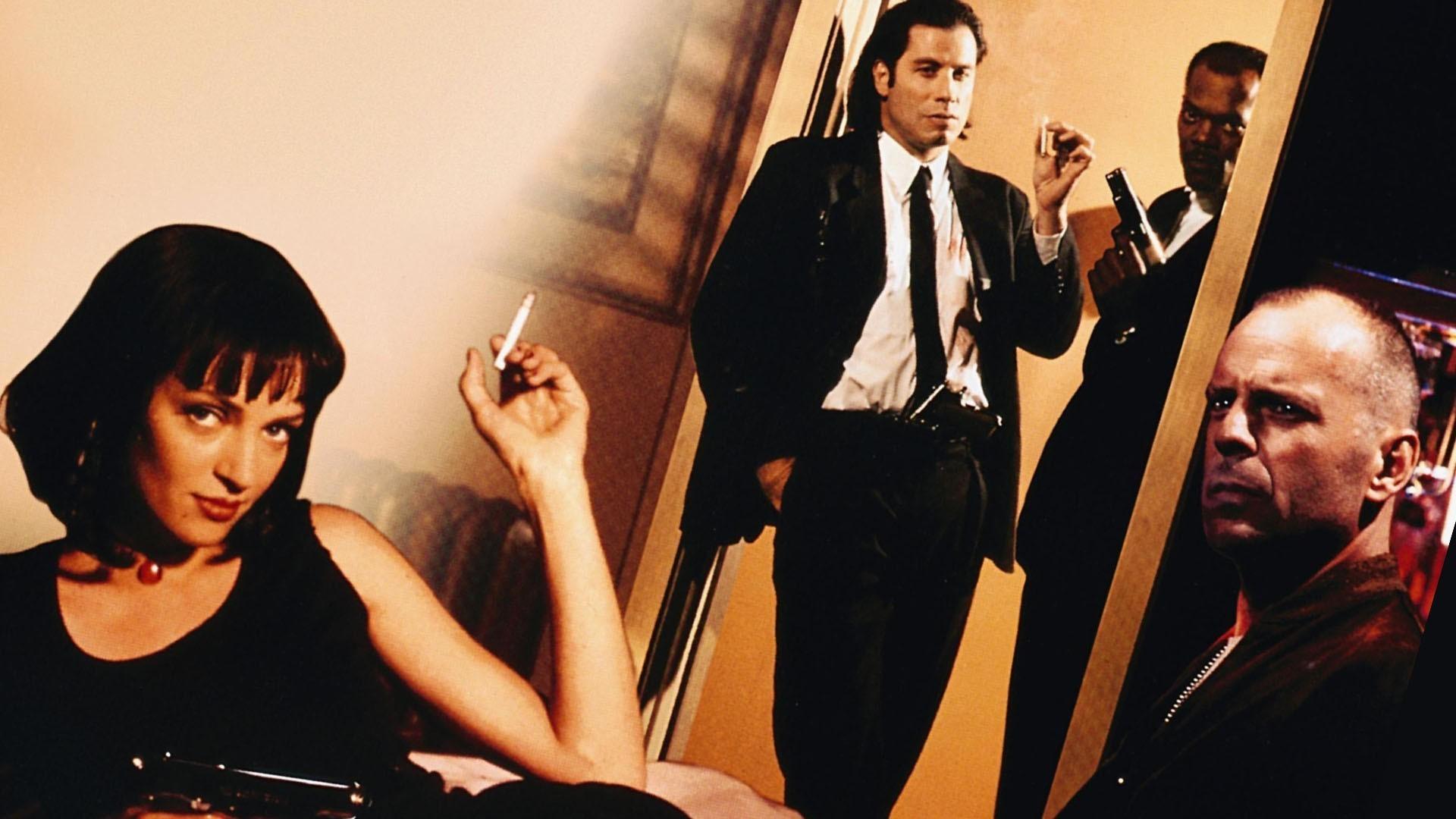 Uma Thurman Pulp Fiction Wallpaper