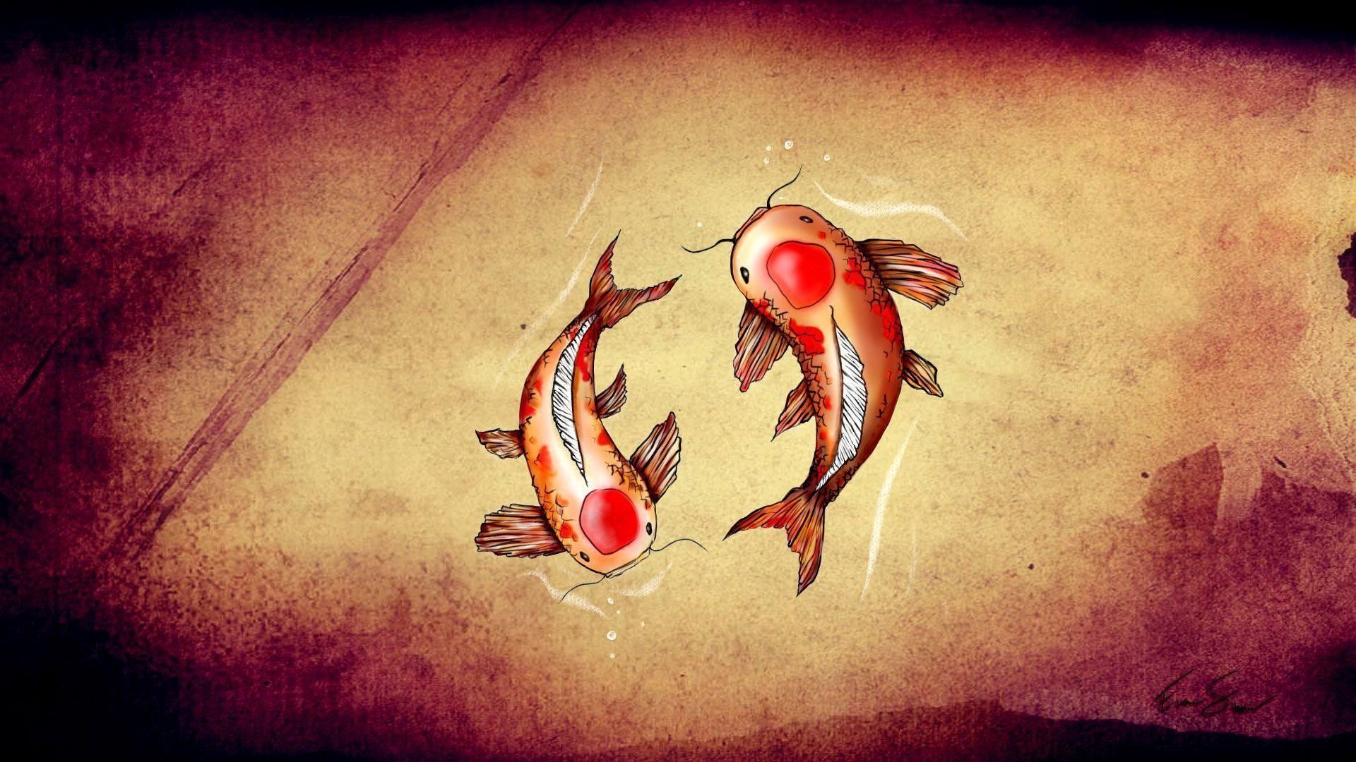 1920x1080 Koi Fish Wallpaper 129483 High Definition Wallpapers | Suwall.